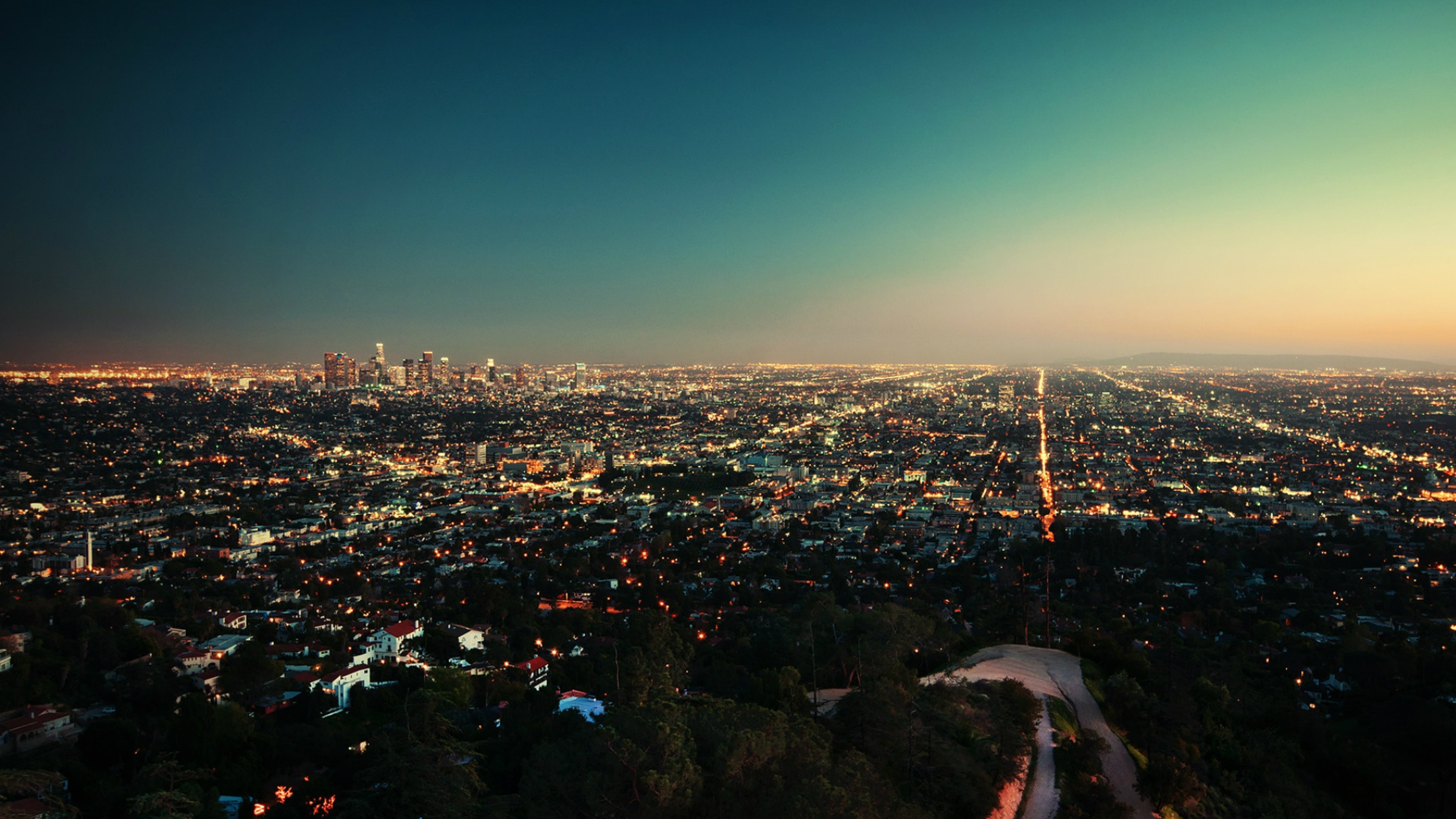 Los Angeles Background