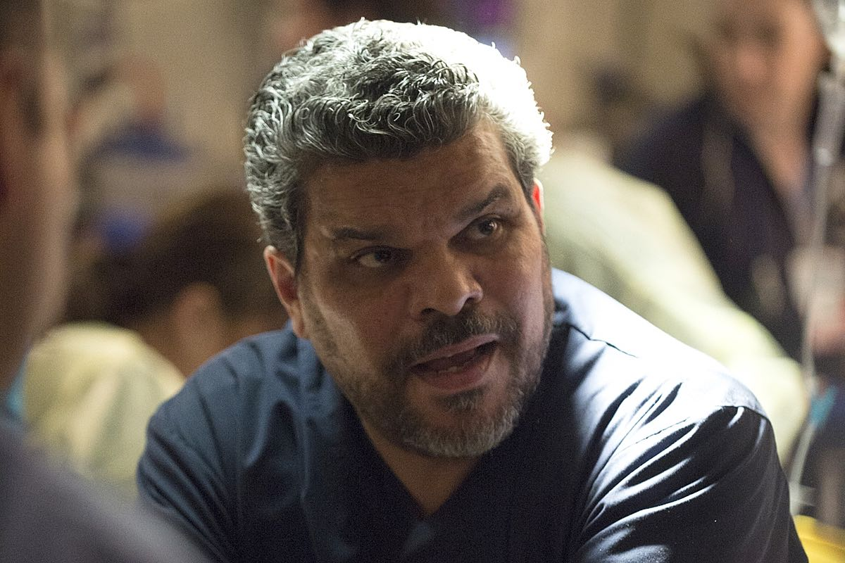 Luis Guzman Background