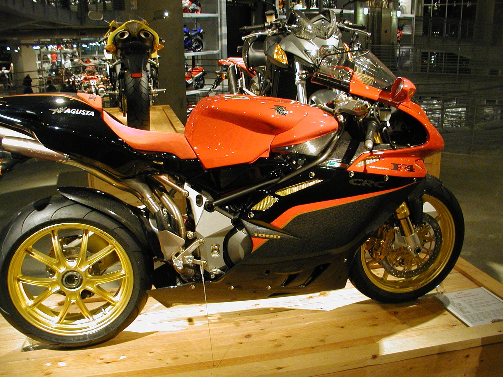 MV Agusta F4 CC Background