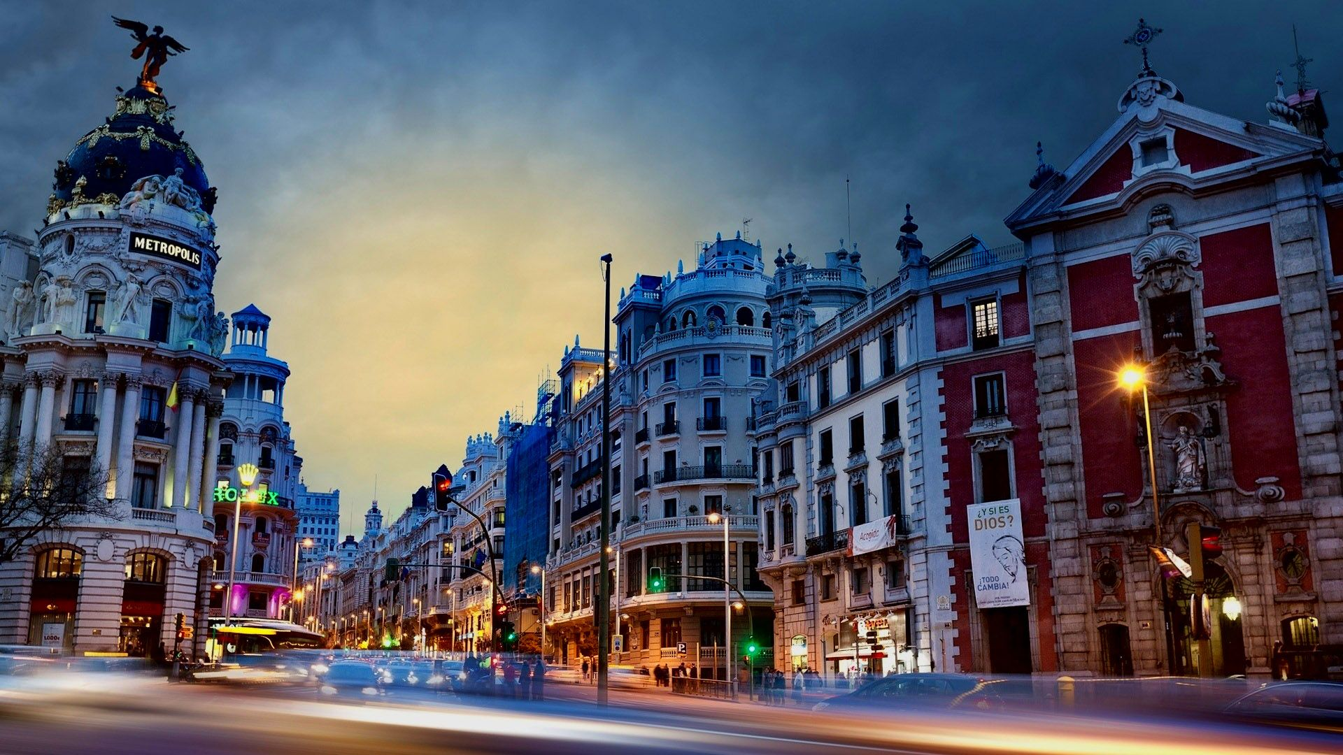 Madrid Background