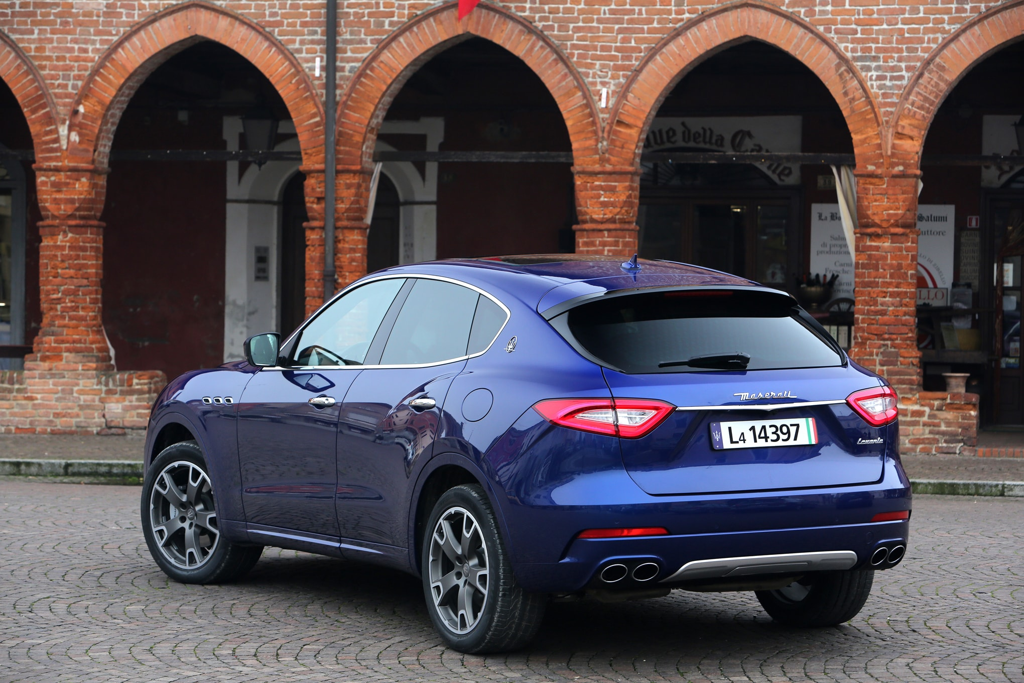Maserati Levante Background