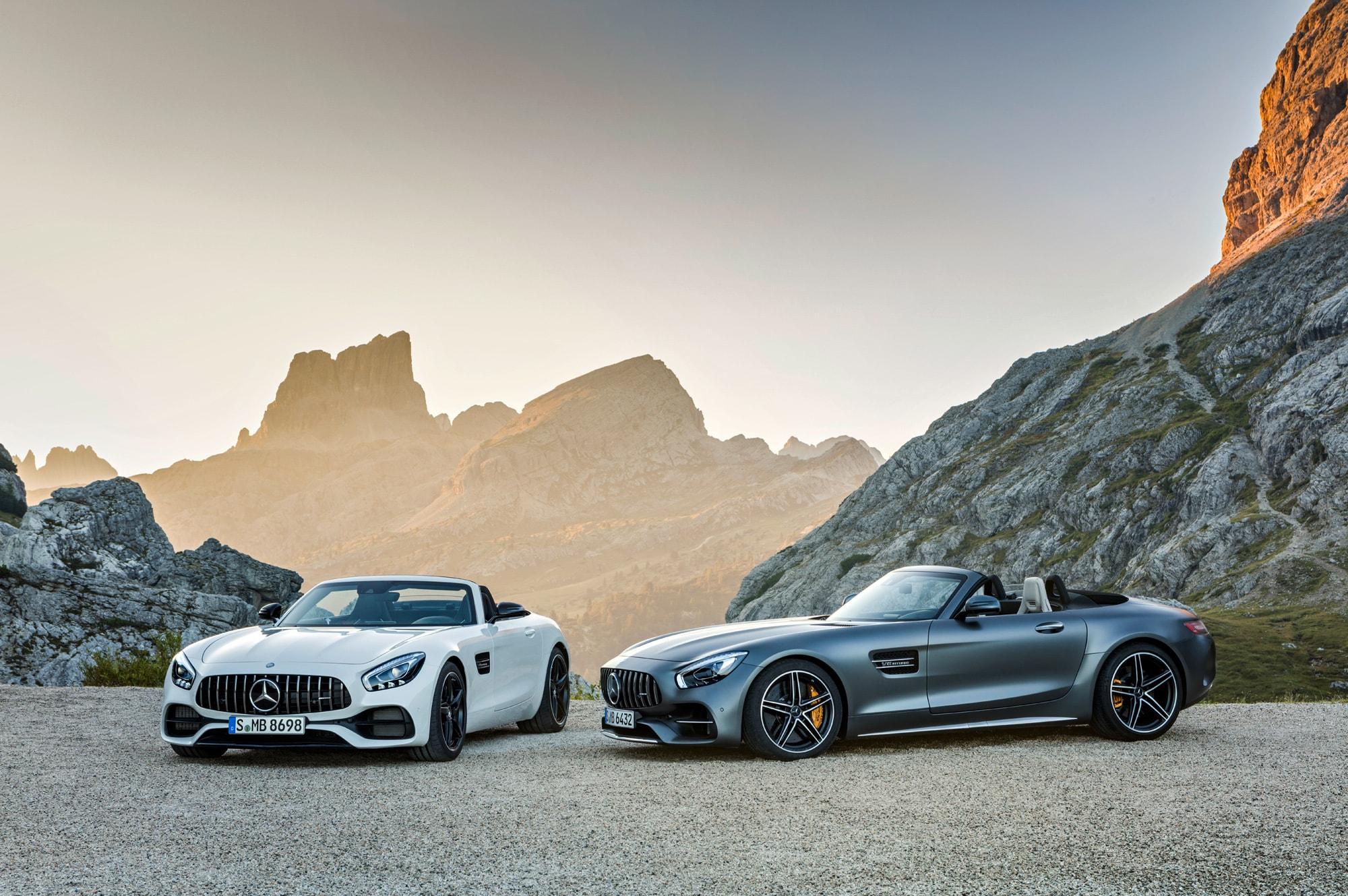 Mercedes-AMG GT Roadster Background