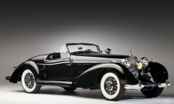 Mercedes-Benz 540K Special Roadster Background