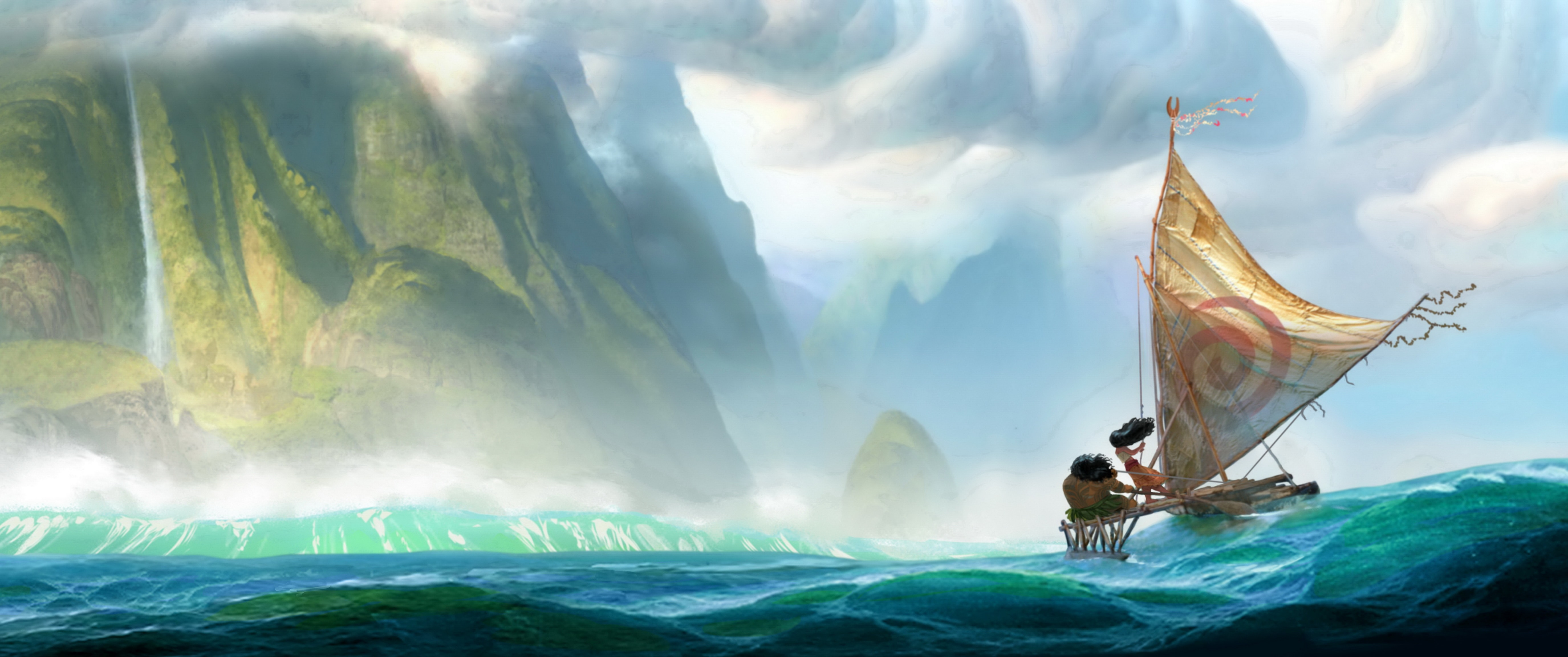 Moana Background