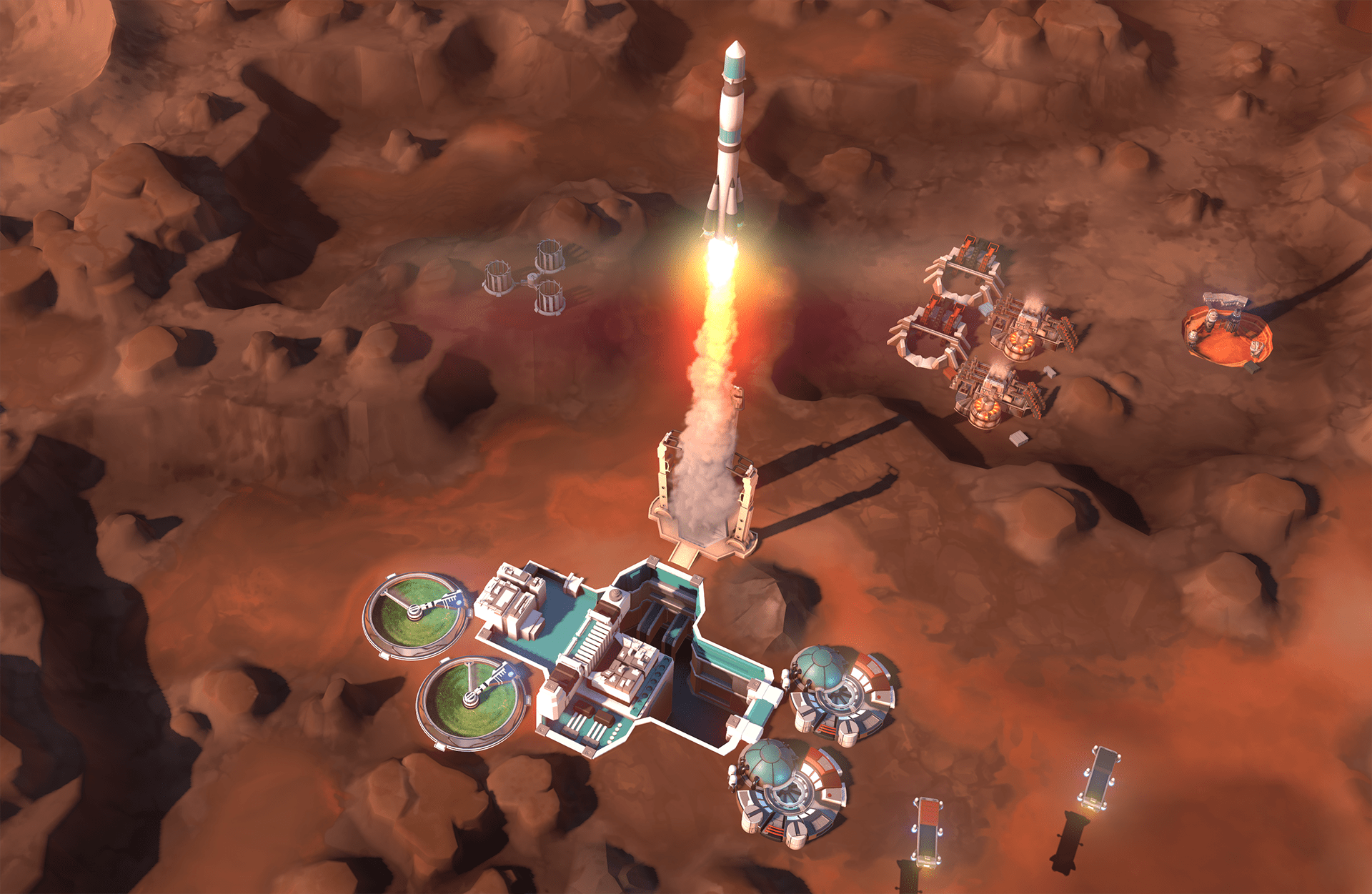Offworld Trading Company Background