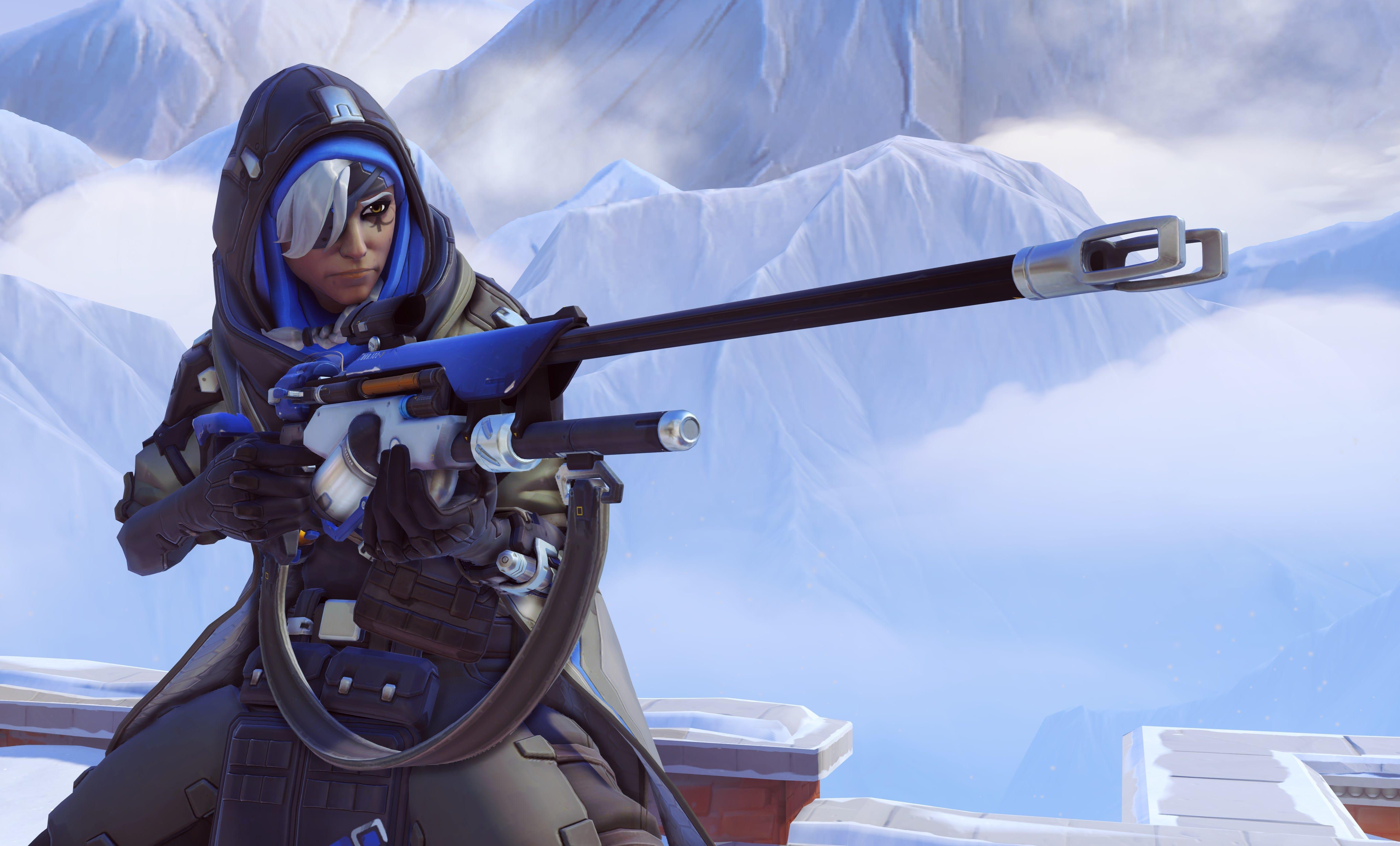 Overwatch : Ana Background