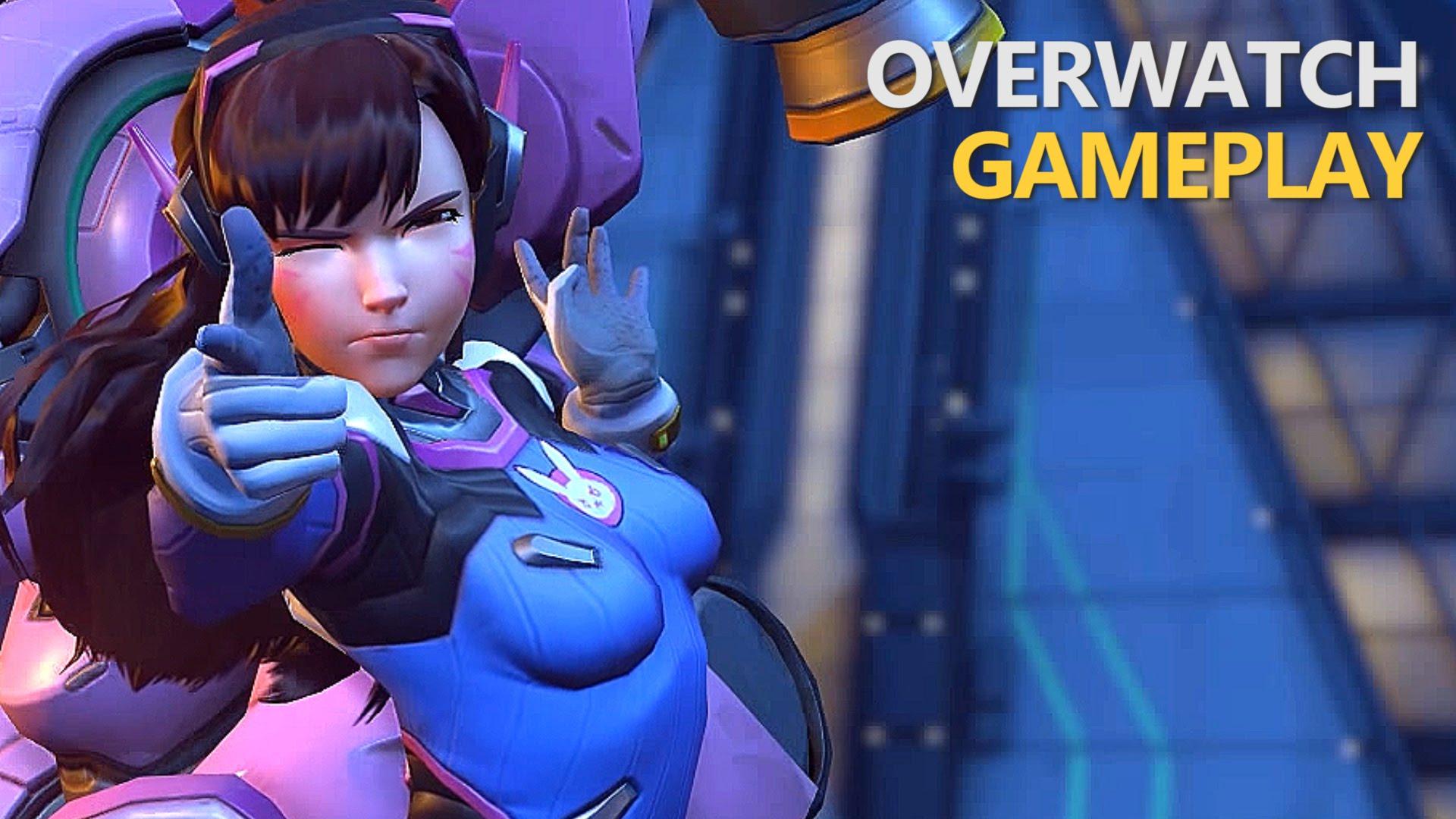 Overwatch : D.Va Background