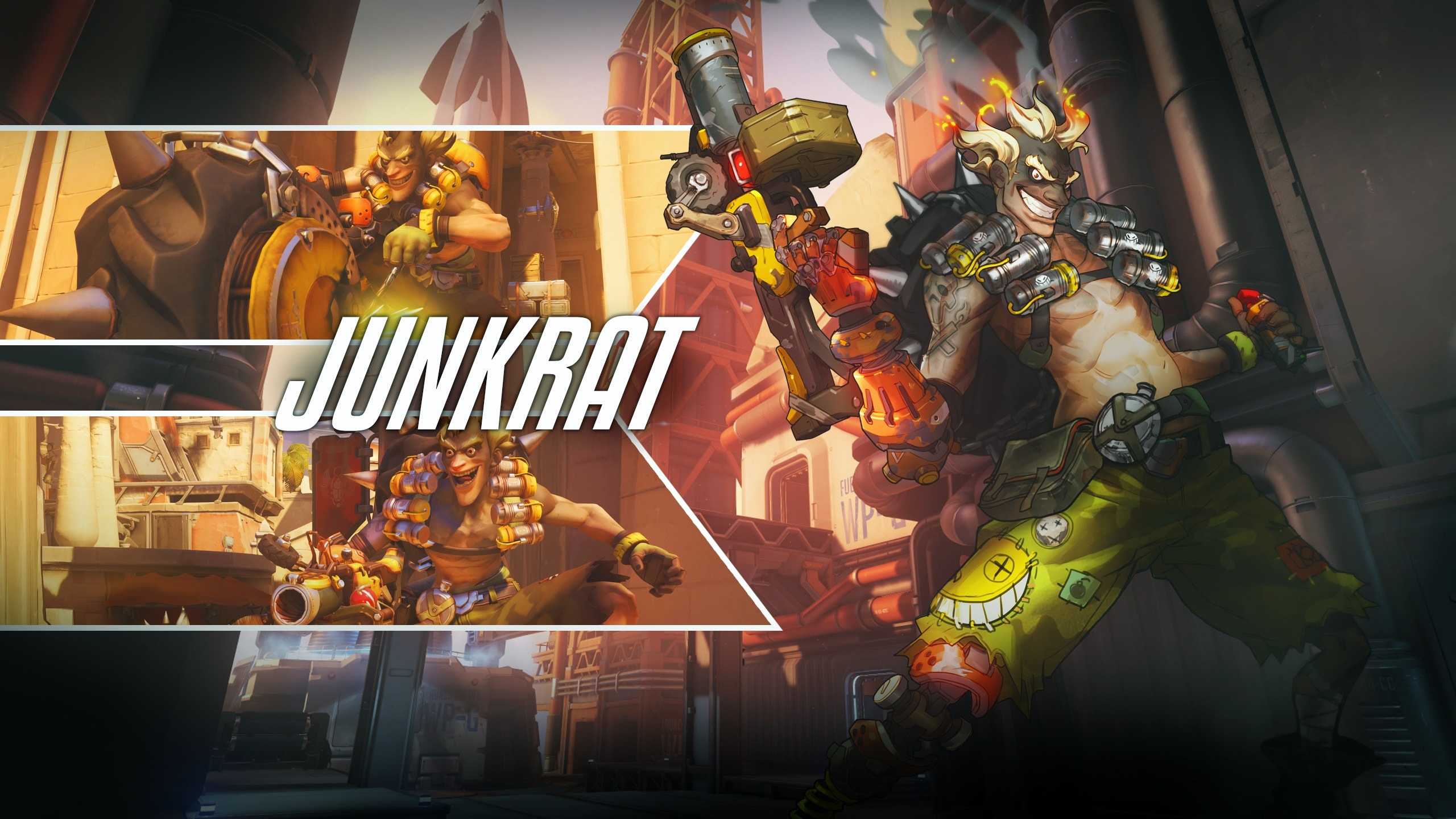 Overwatch : Junkrat Background