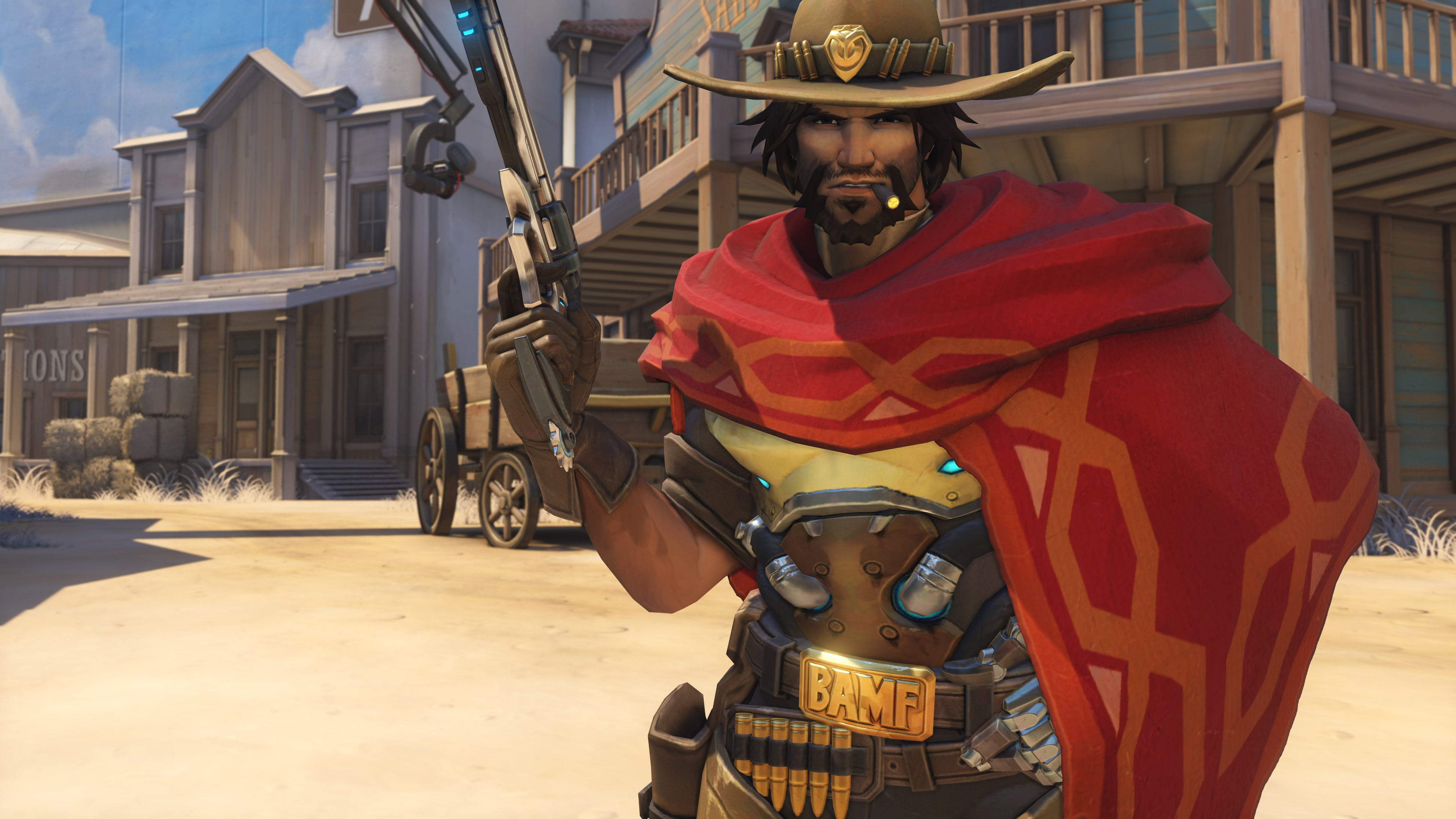 Overwatch : McCree Background
