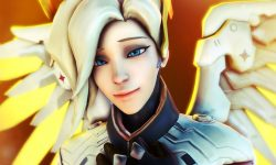 Overwatch : Mercy Background