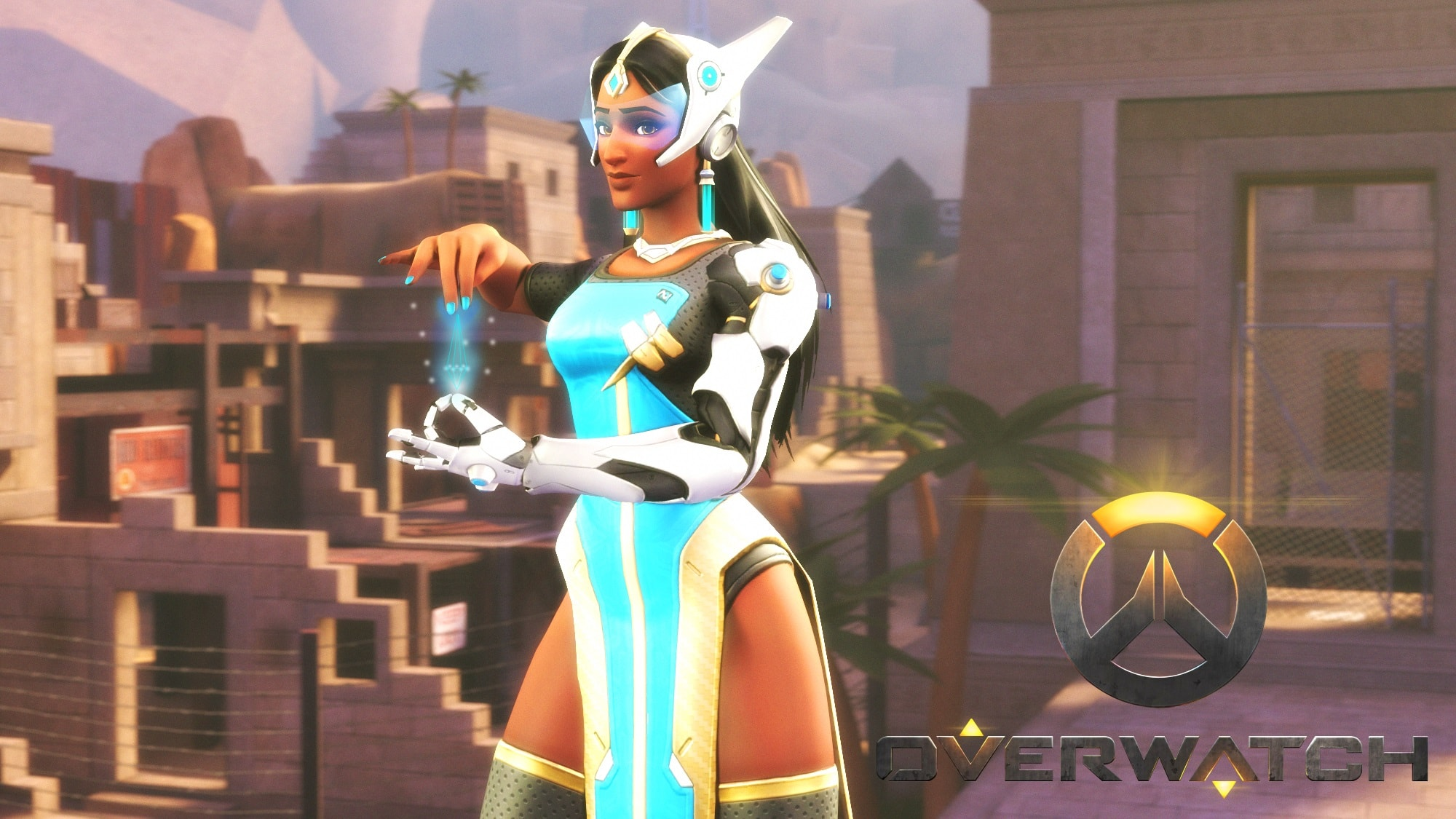 Overwatch : Symmetra Background