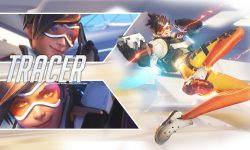Overwatch : Tracer Background