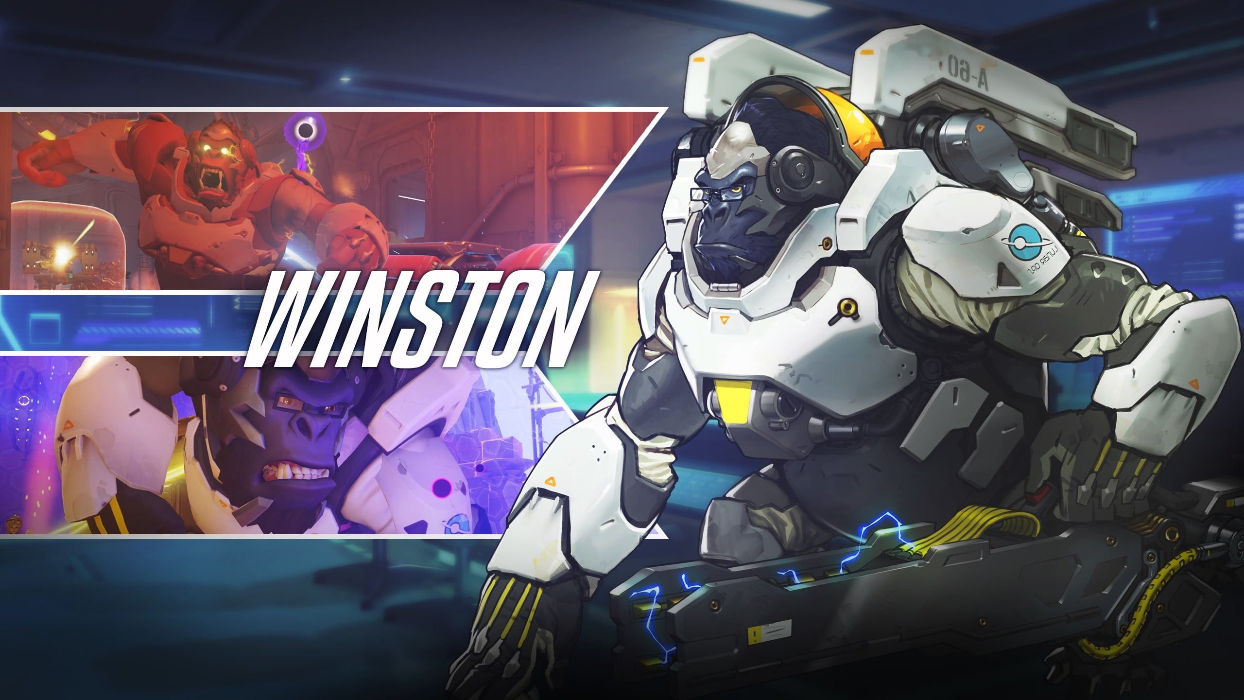 Overwatch : Winston Background