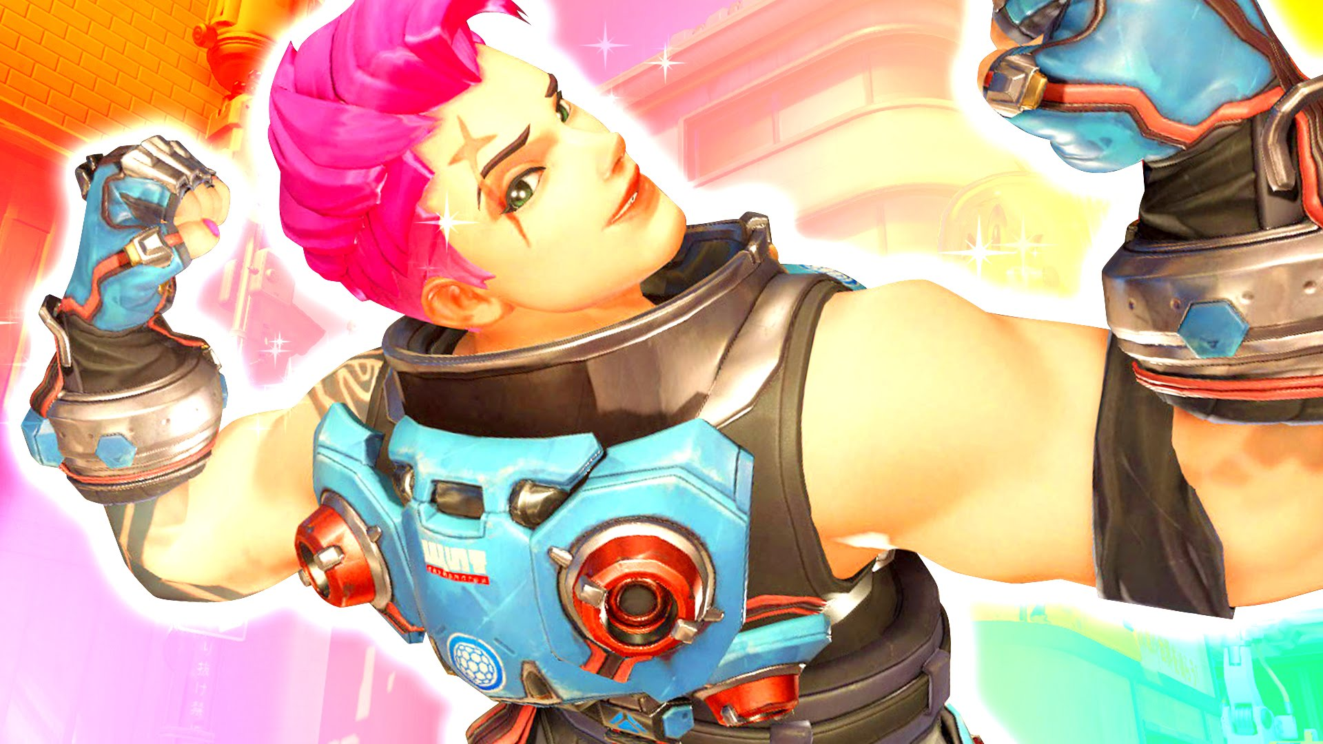 Overwatch : Zarya Background