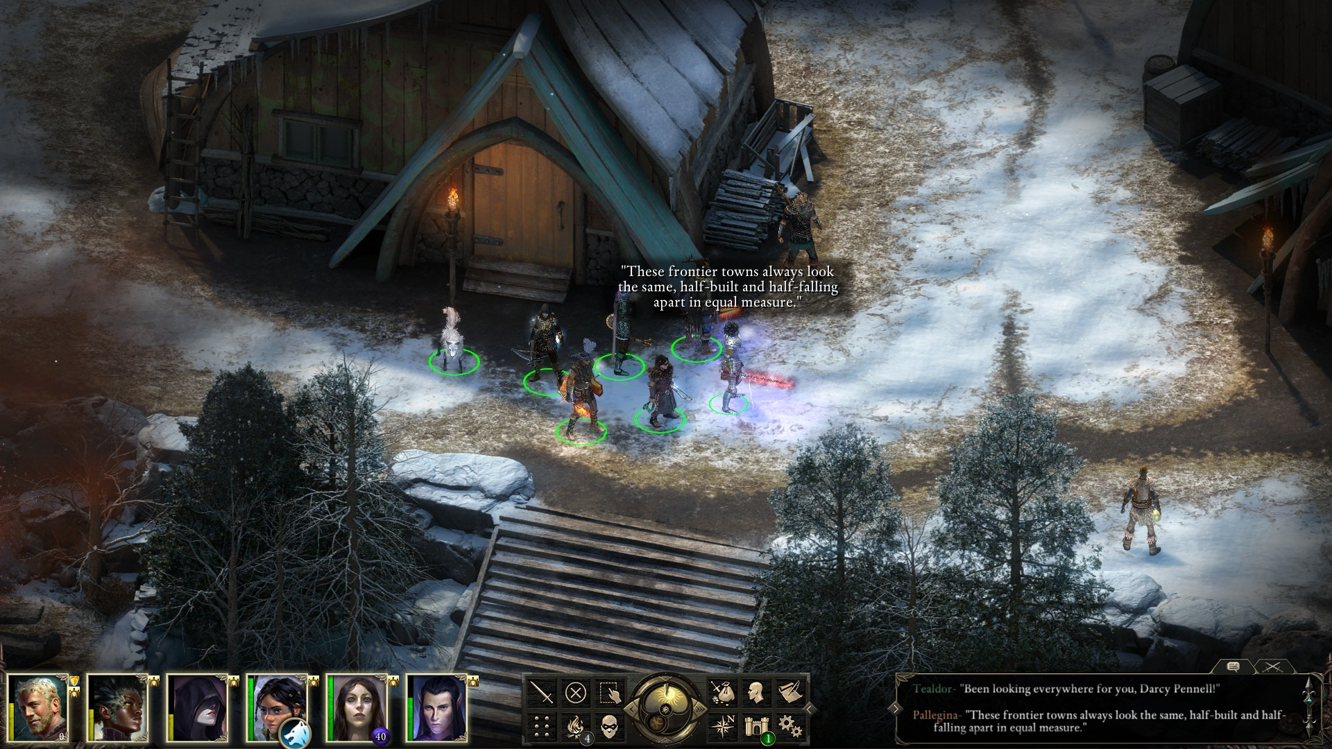 Pillars Of Eternity Wallpaper: Pillars Of Eternity: The White March 2 HD Desktop
