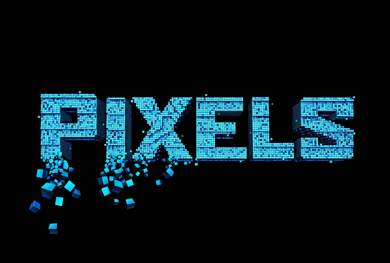 Pixels Background