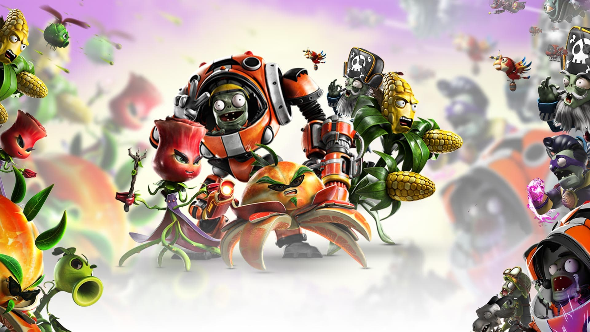 Plants vs. Zombies: Garden Warfare 2 Background