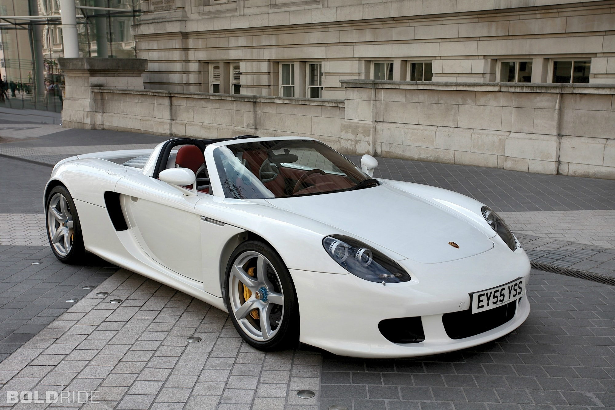 Porsche Carrera GT Background