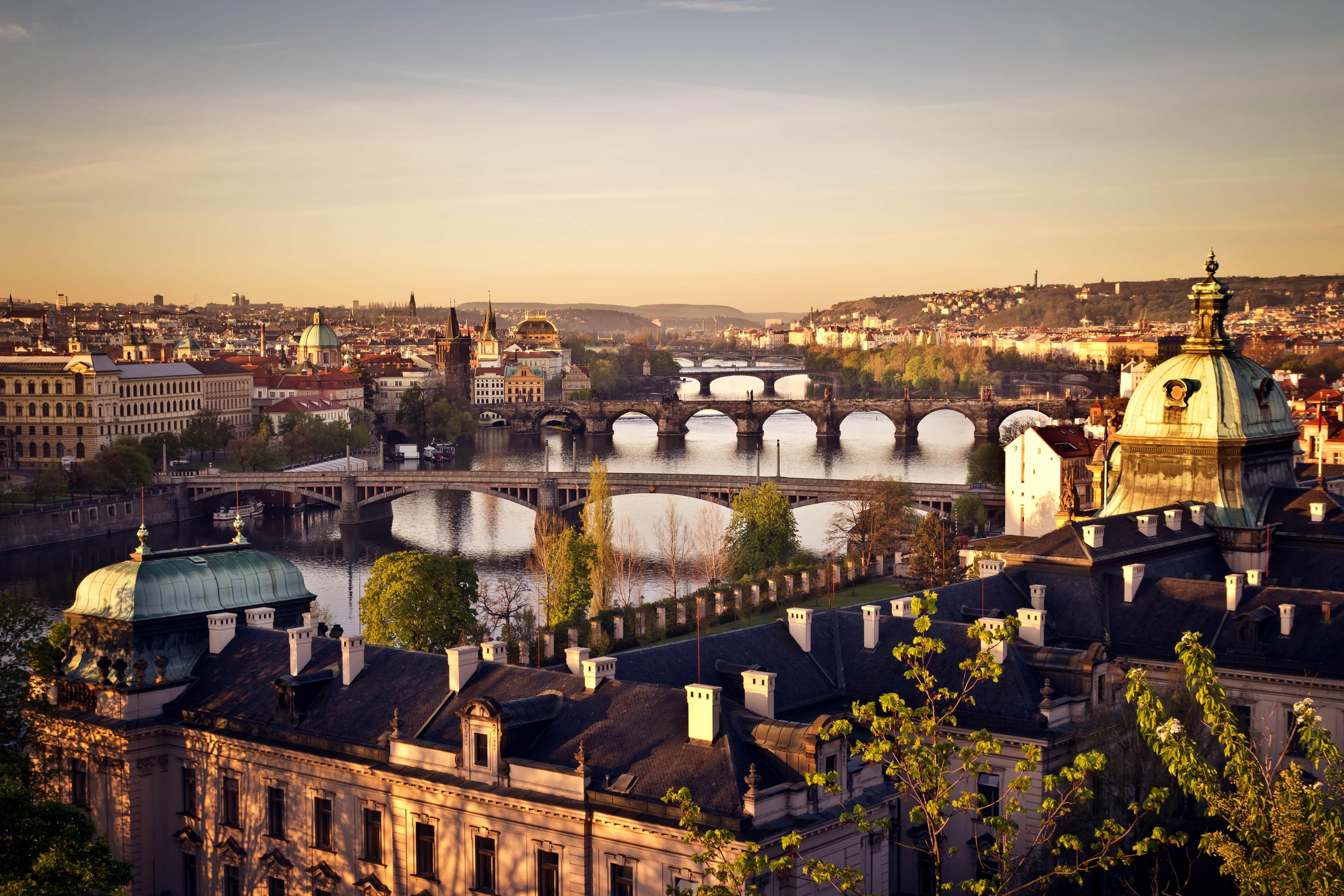Prague Background