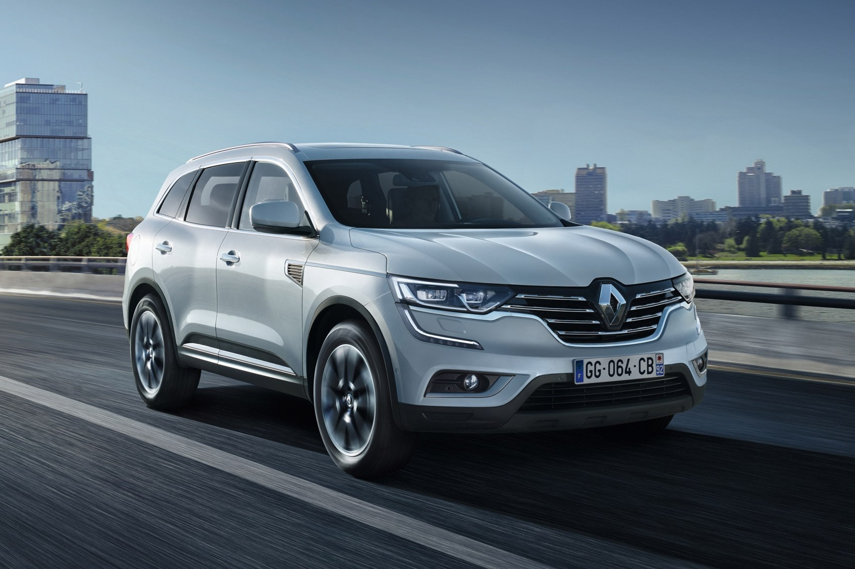 Renault Koleos 2 Background
