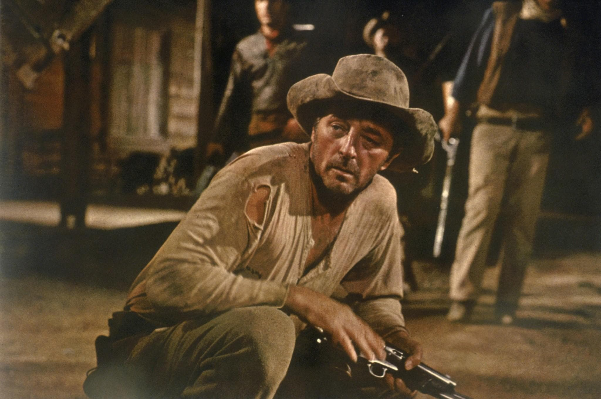 Robert Mitchum Background