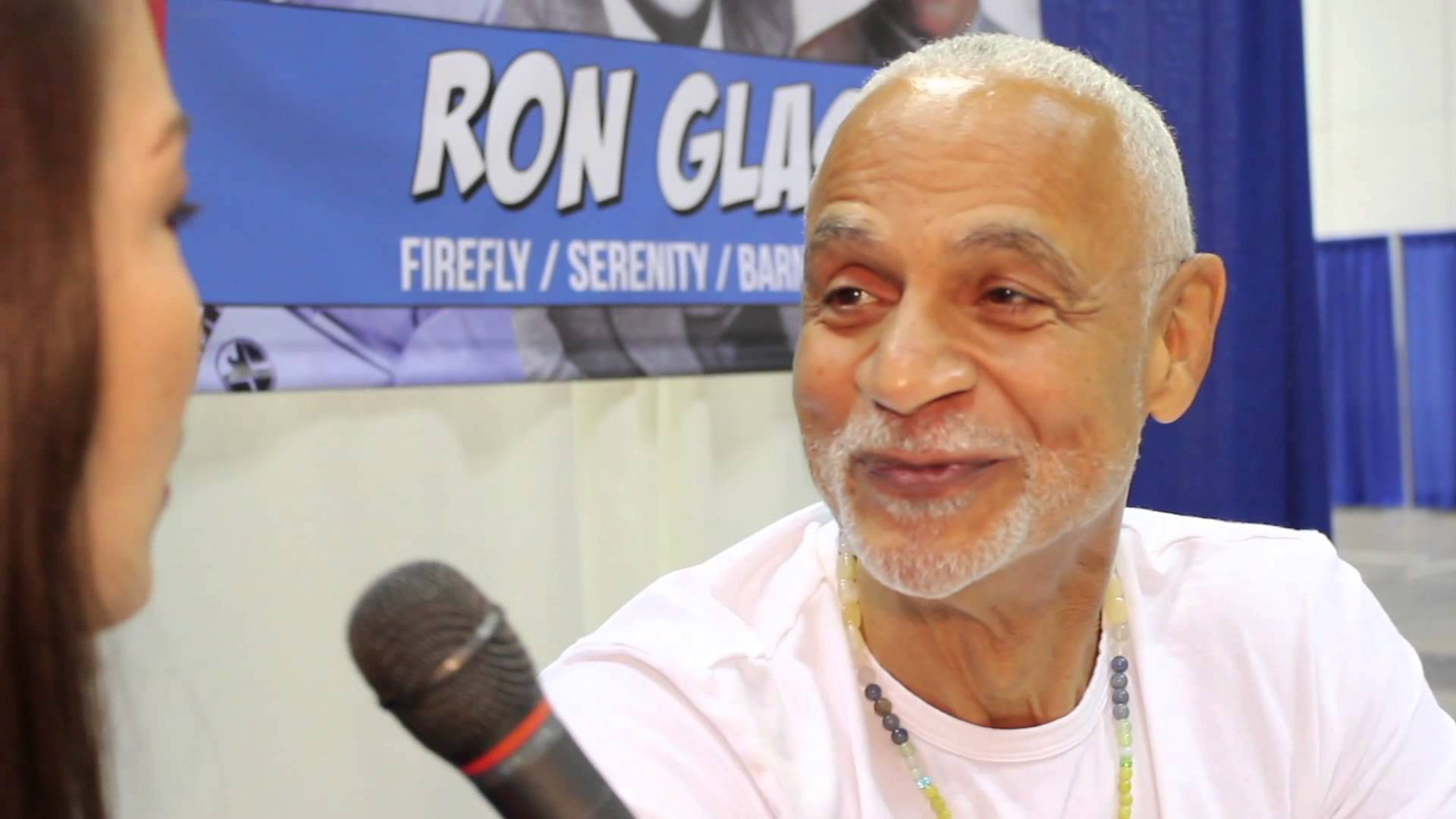 Ron Glass Background