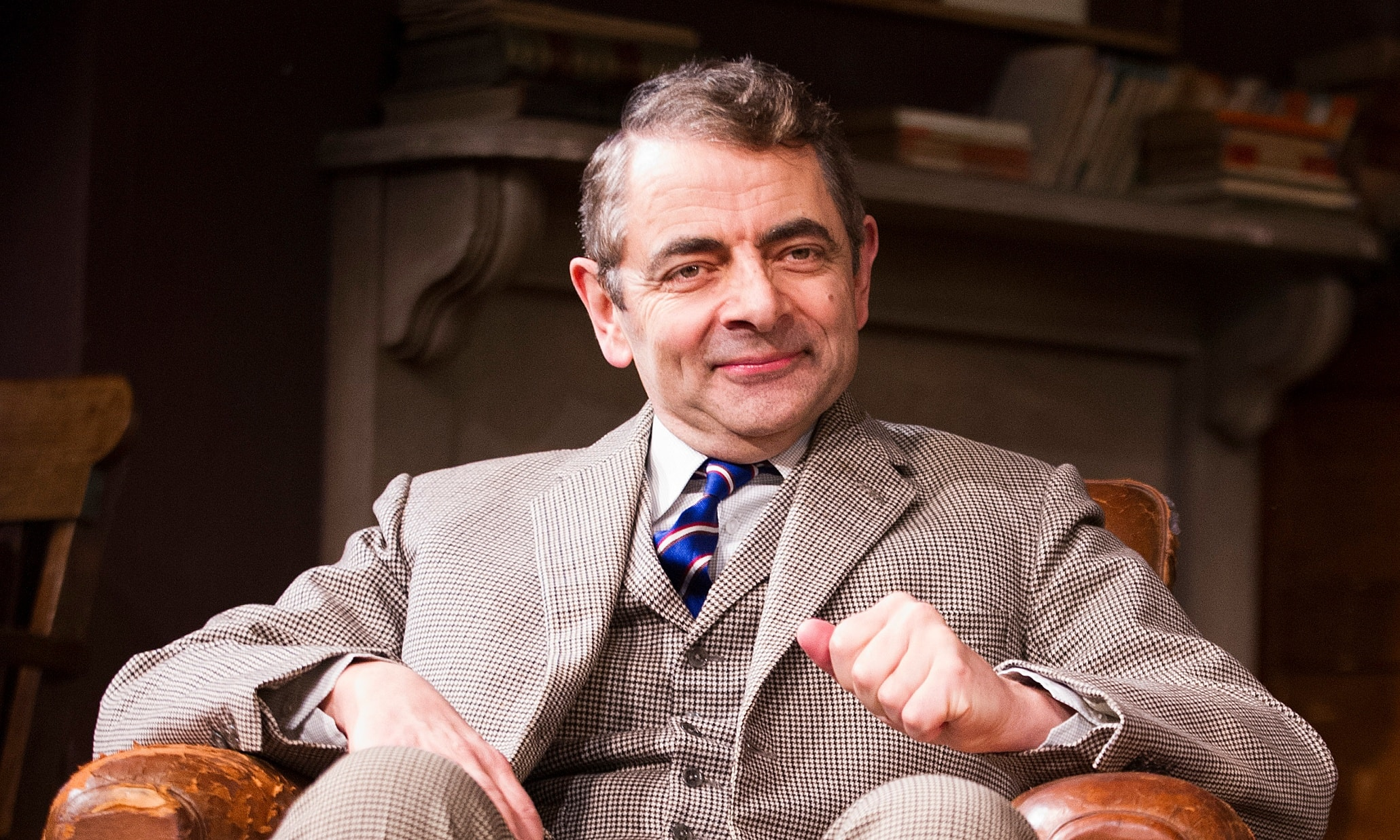 Rowan Atkinson Background