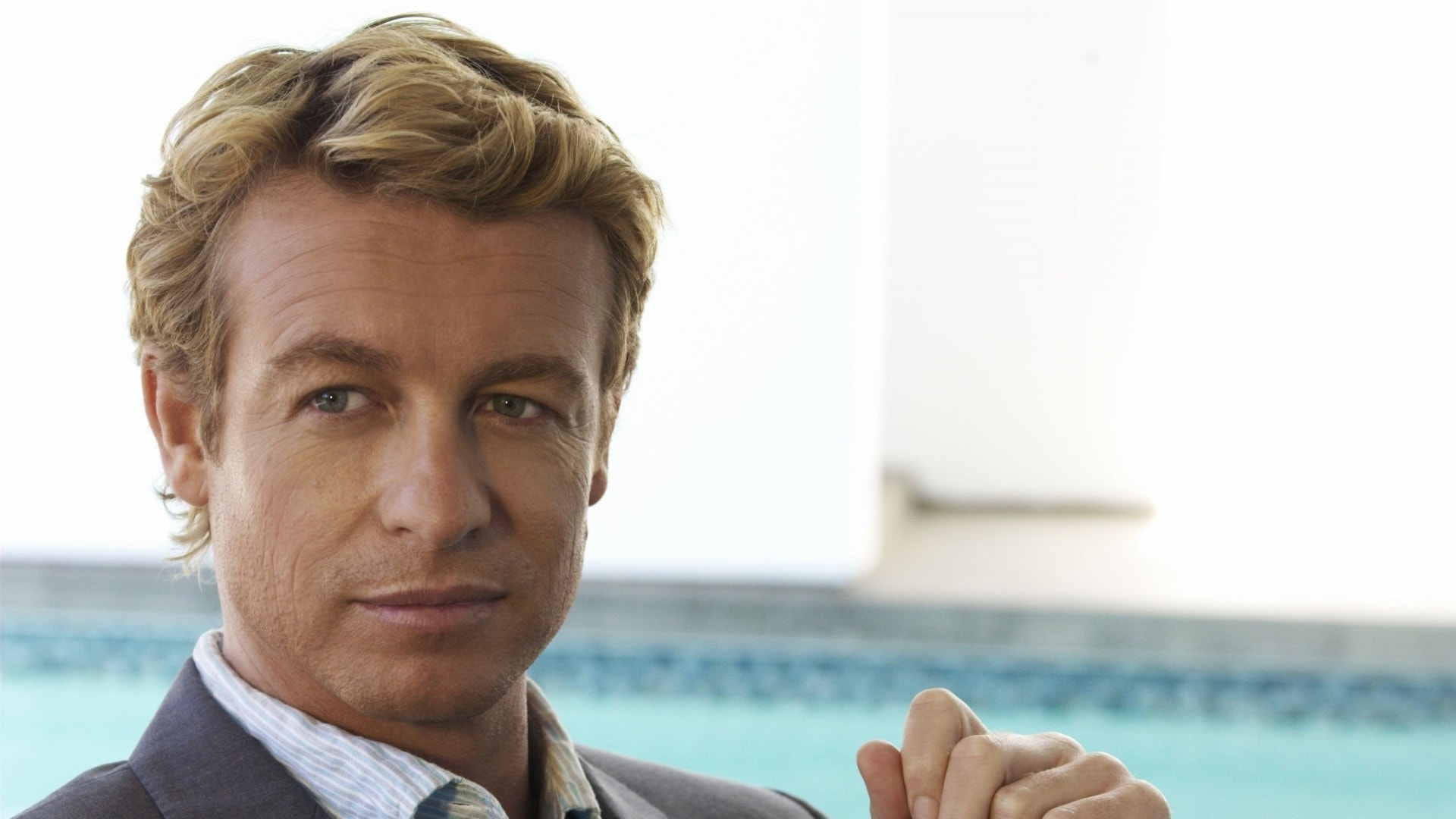Simon Baker Background