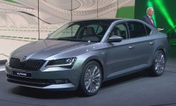 Skoda Superb 3 Background