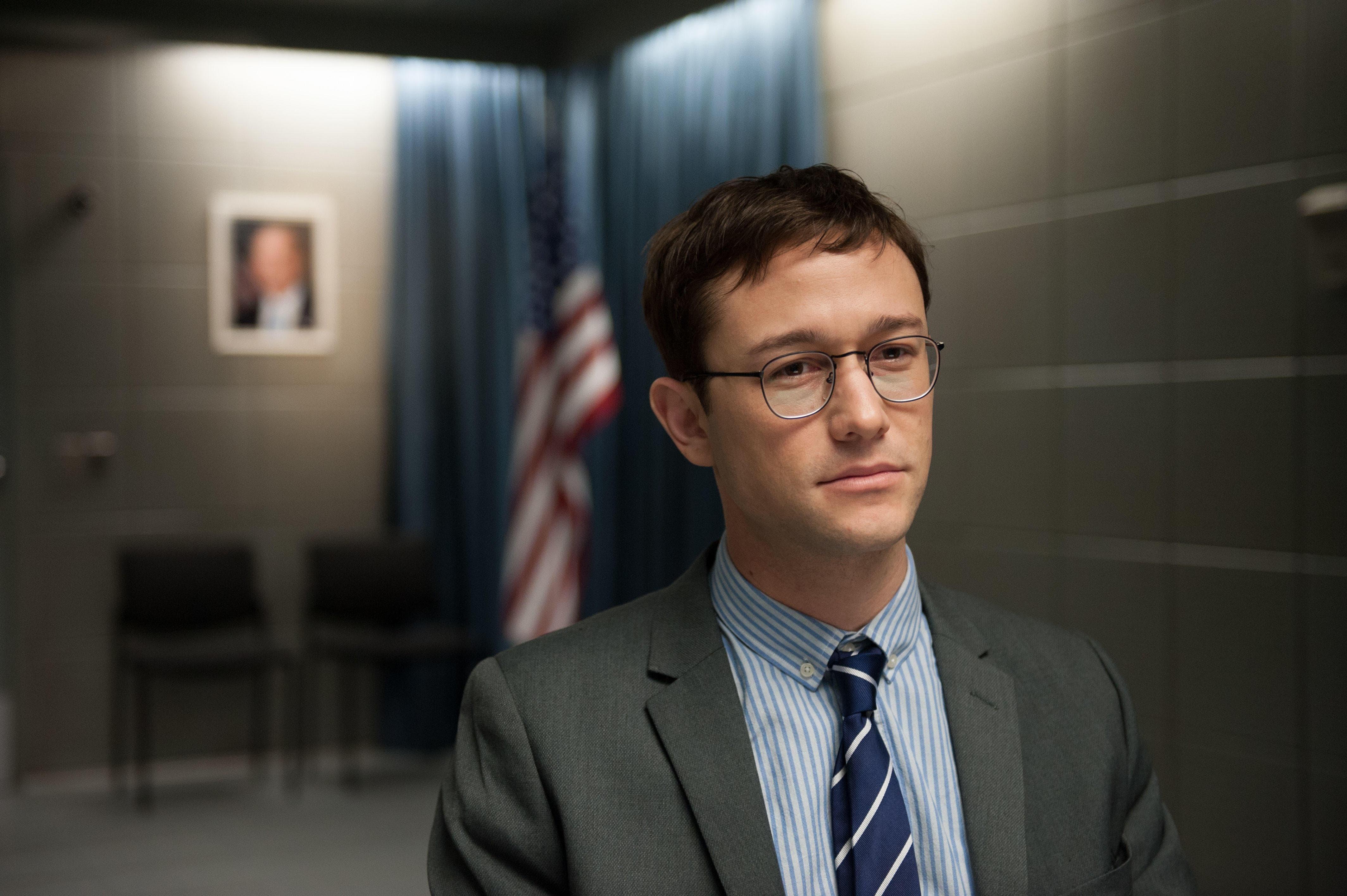Snowden Background