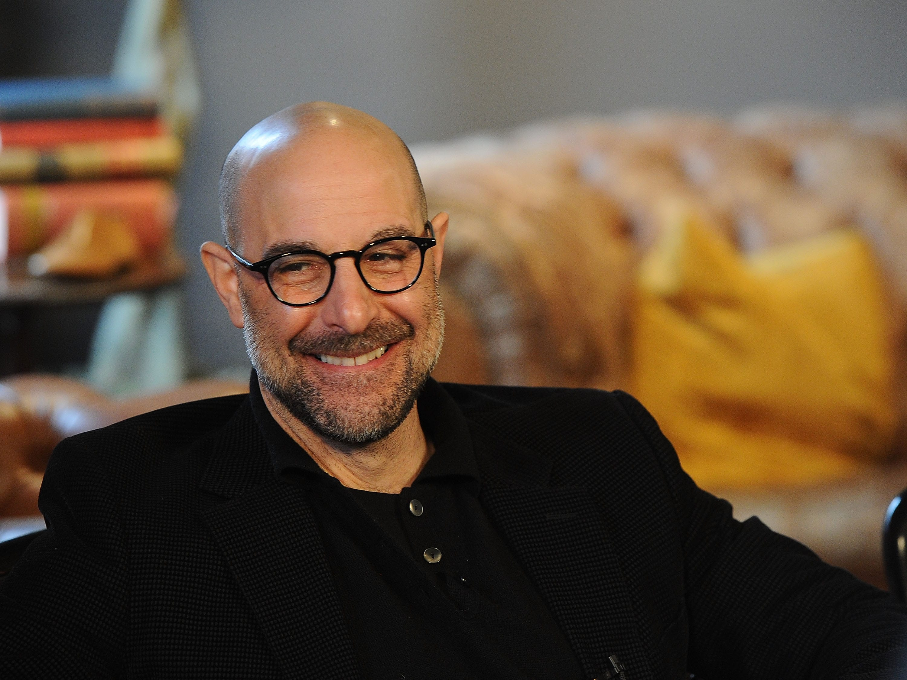 Stanley Tucci Background