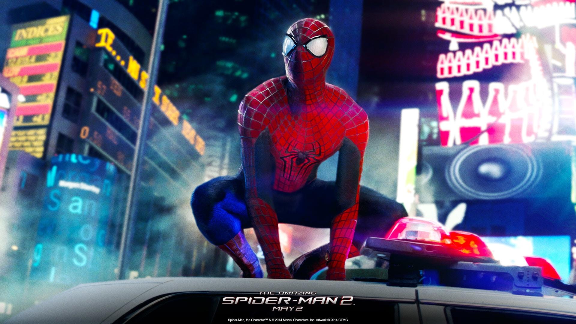 The Amazing Spider-Man 2 Background