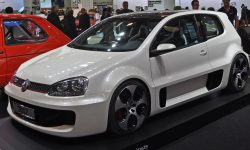 Volkswagen Golf GTI W12-650 Concept Background