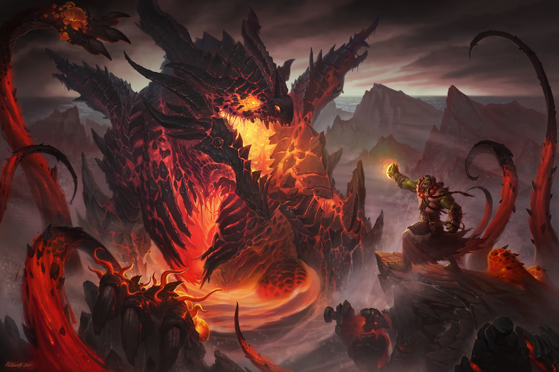 WOW: Deathwing Background