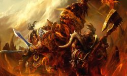 WOW: Garrosh Hellscream Background