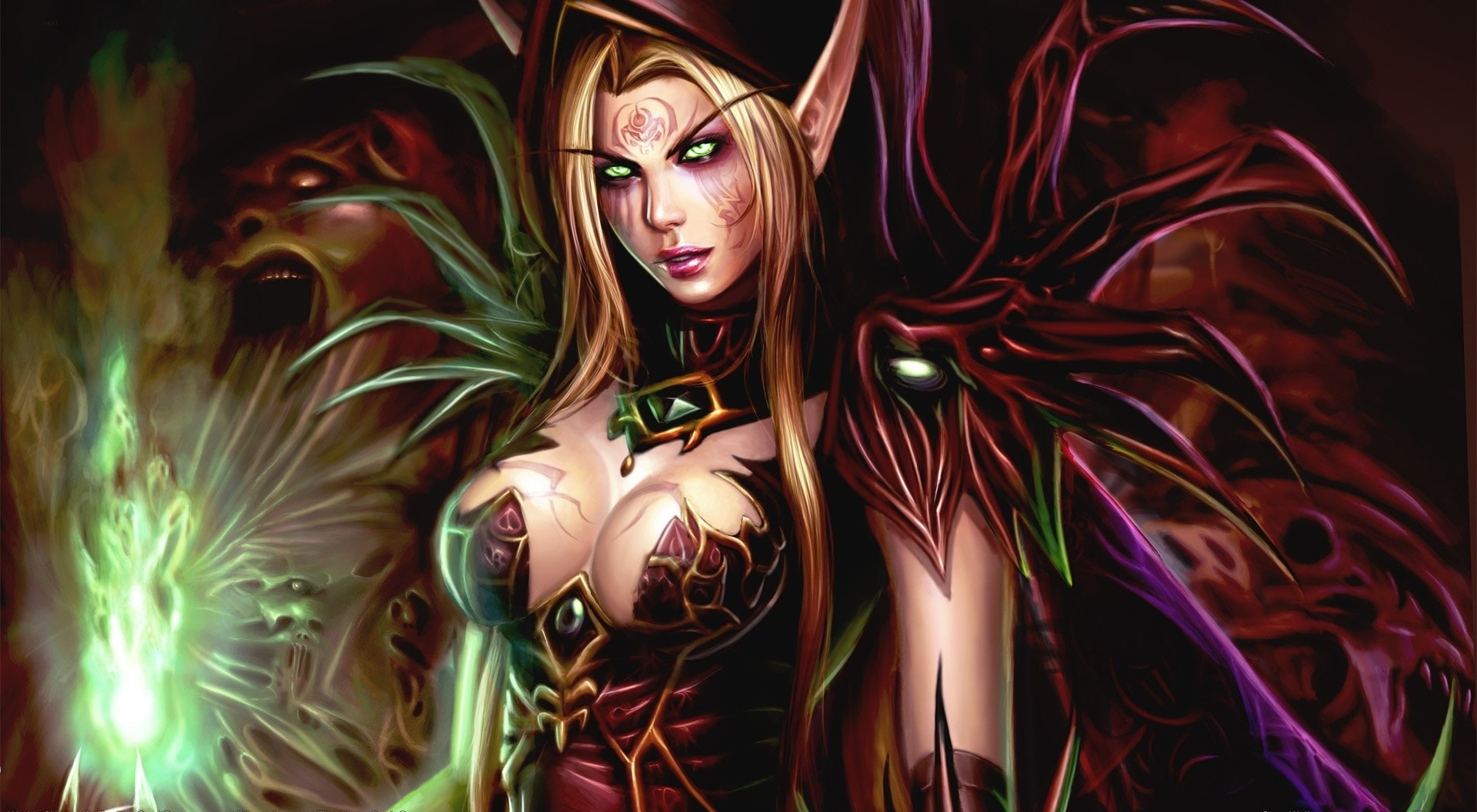 WOW: Valeera Sanguinar Background