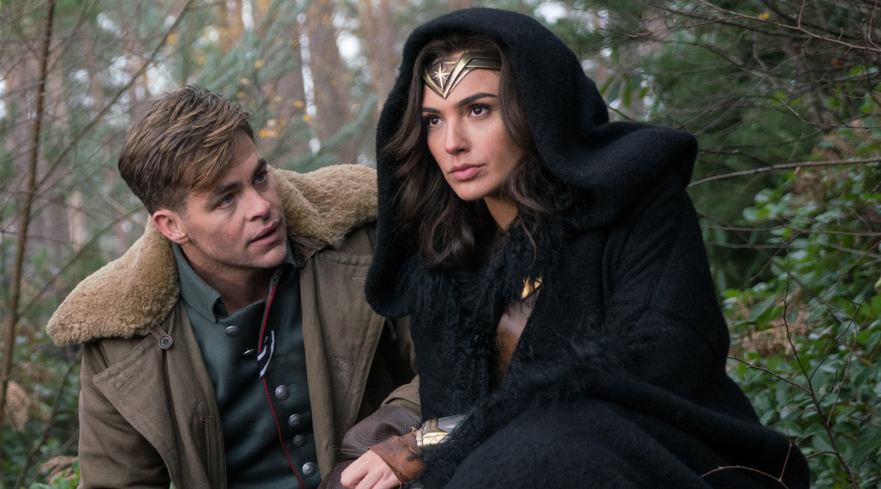 Wonder Woman Background