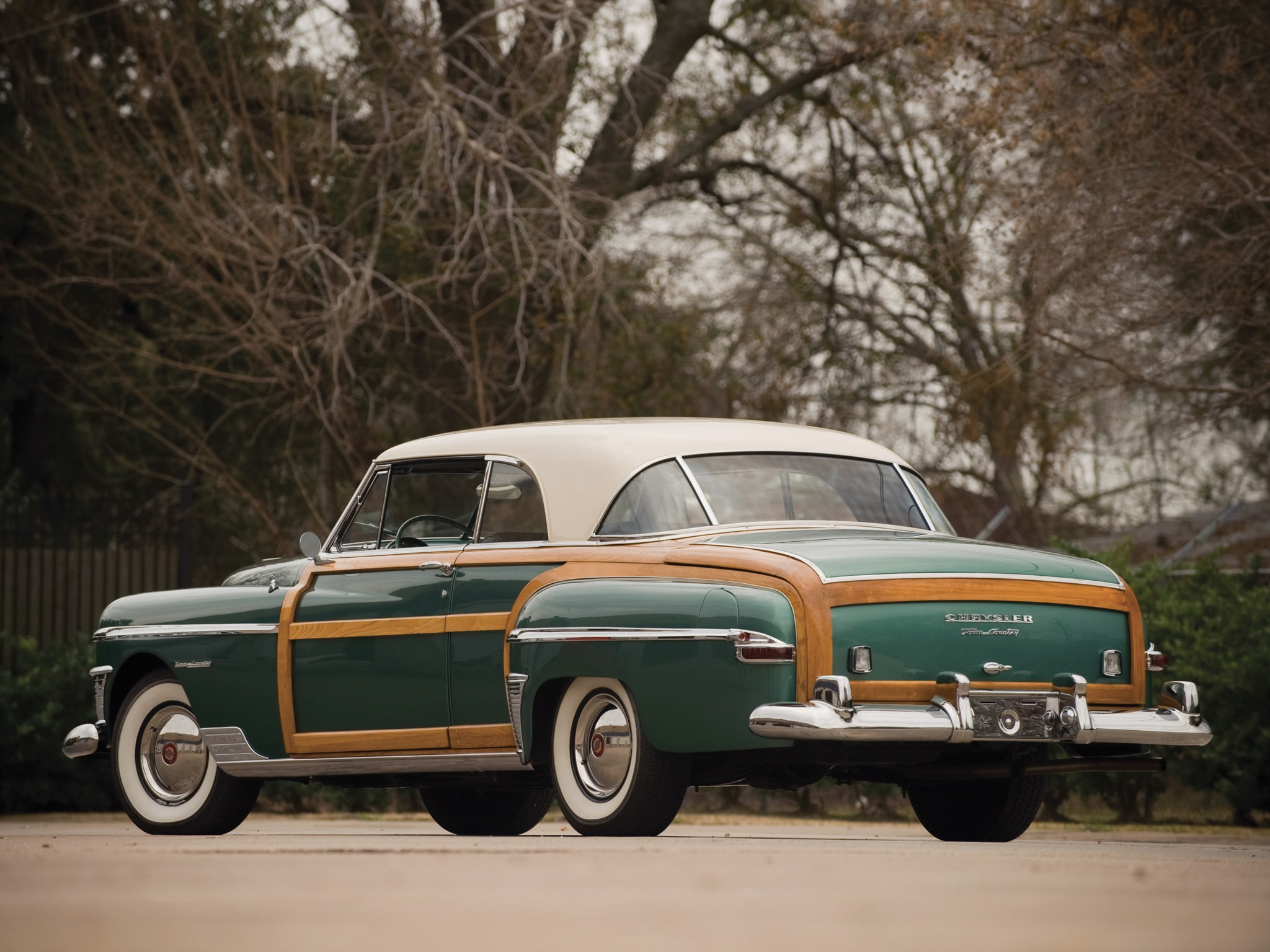 1950 Chrysler Town & Country HD pics