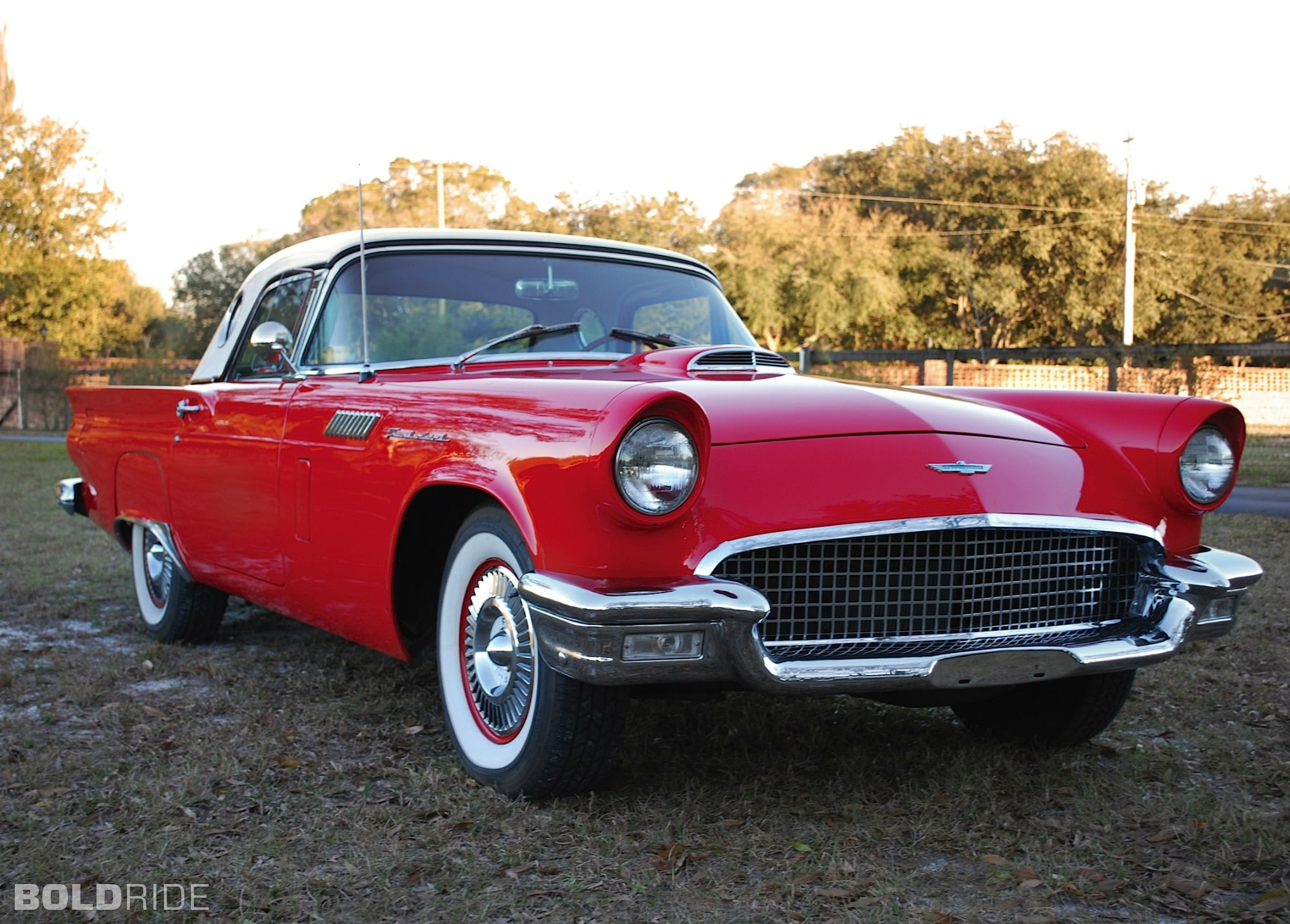 1957 Ford Thunderbird HD pics