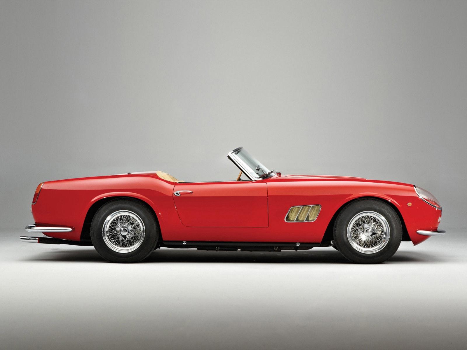 1961 Ferrari 250 GT California HD pics