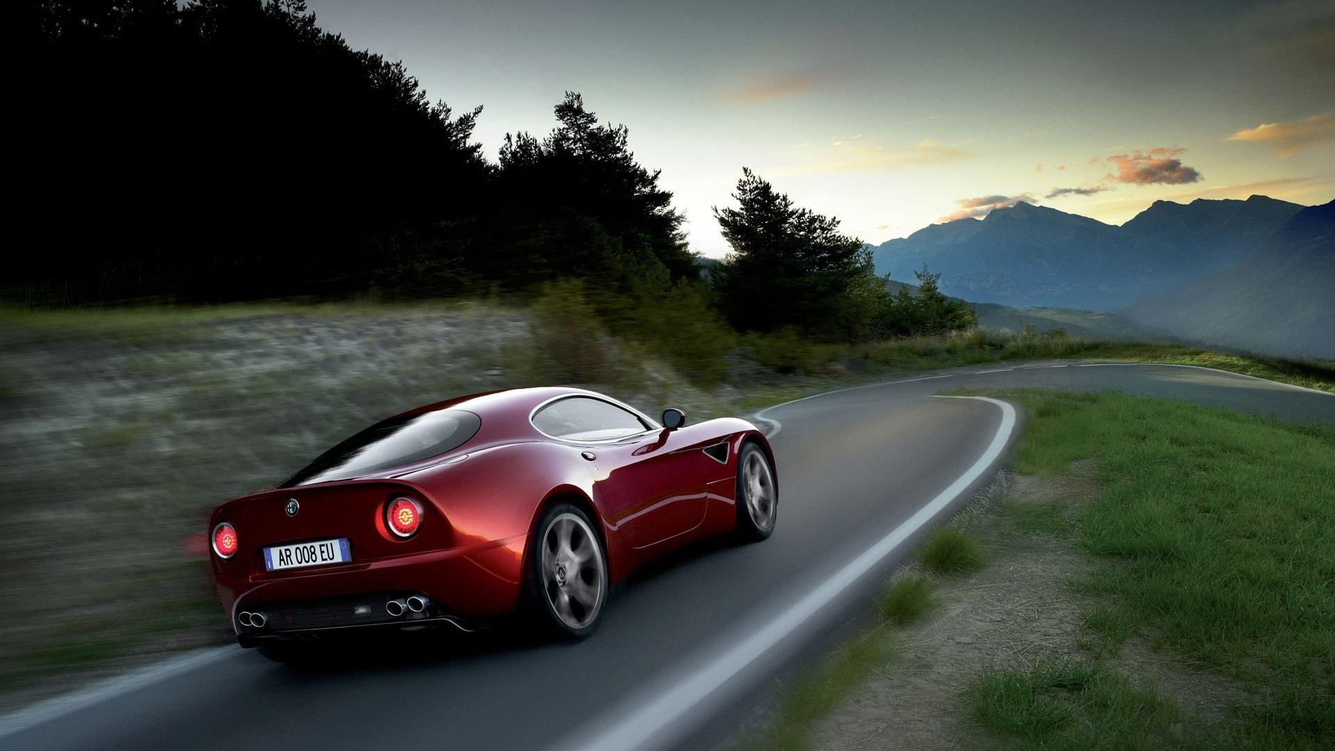 Alfa Romeo 8c HD pics