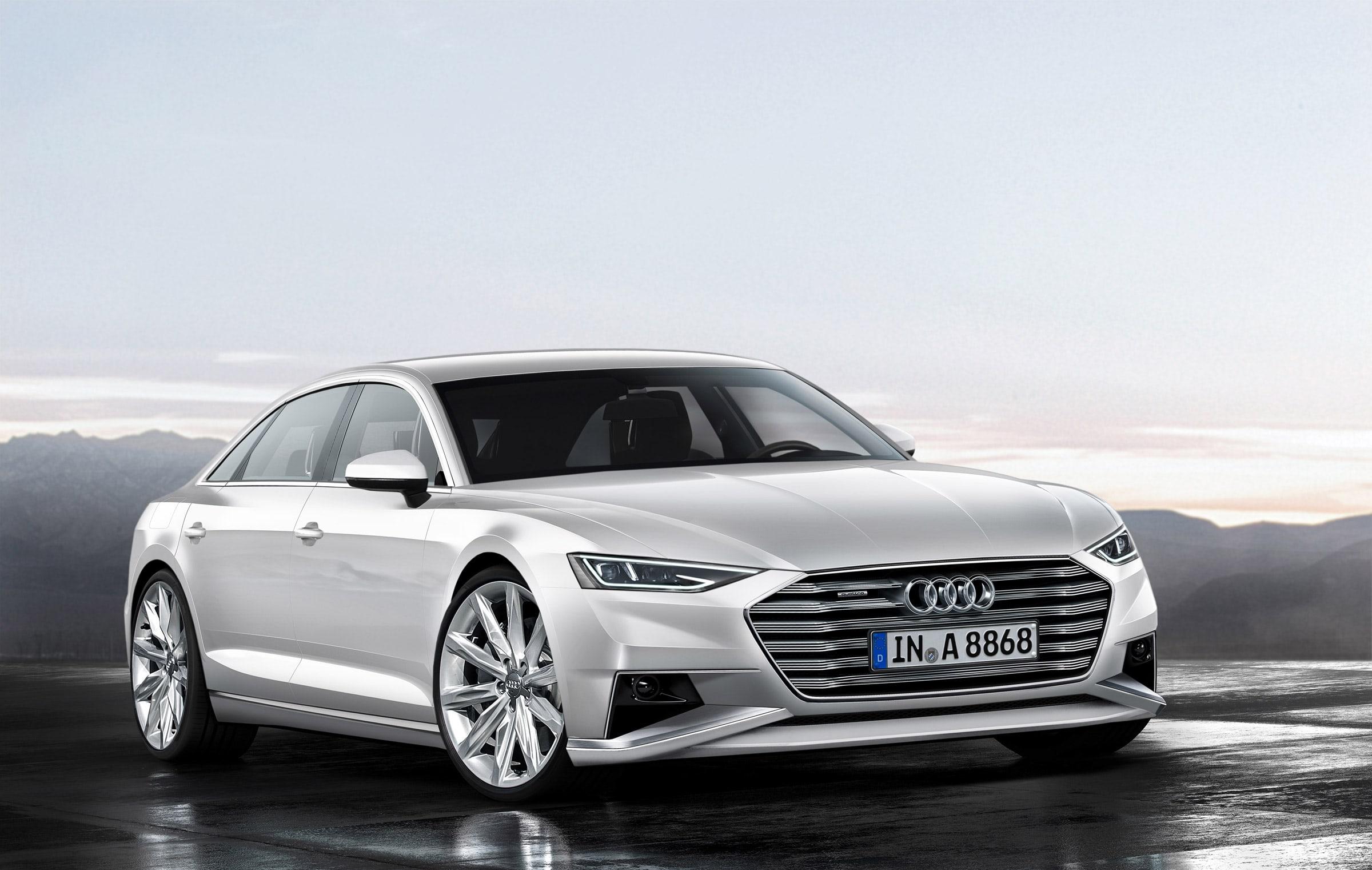 Audi A8 (D5) HD pics