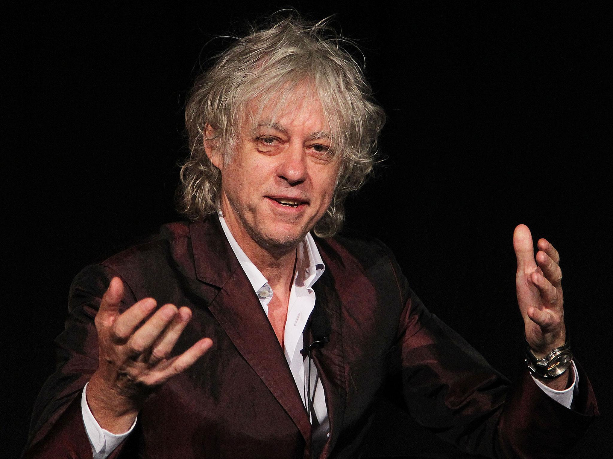 Bob Geldof HD pics