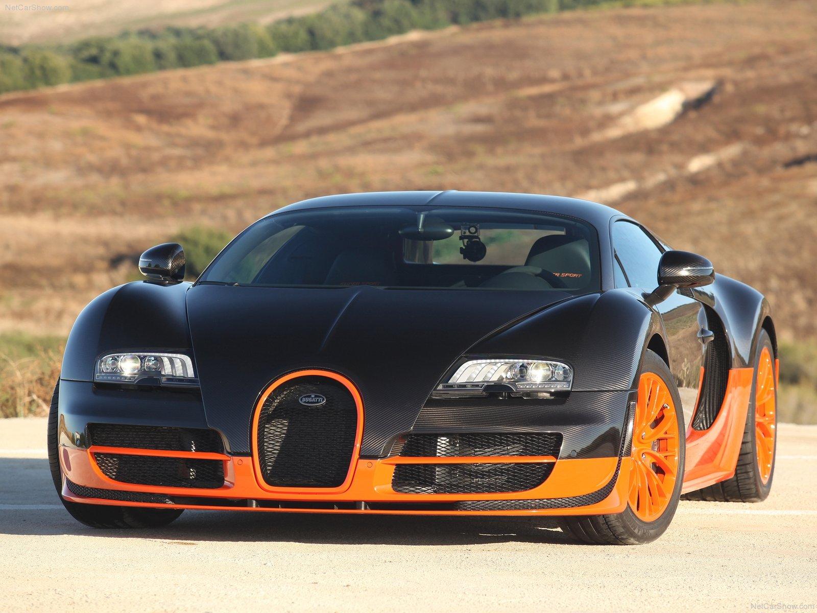Bugatti Veyron Super Sport HD pics