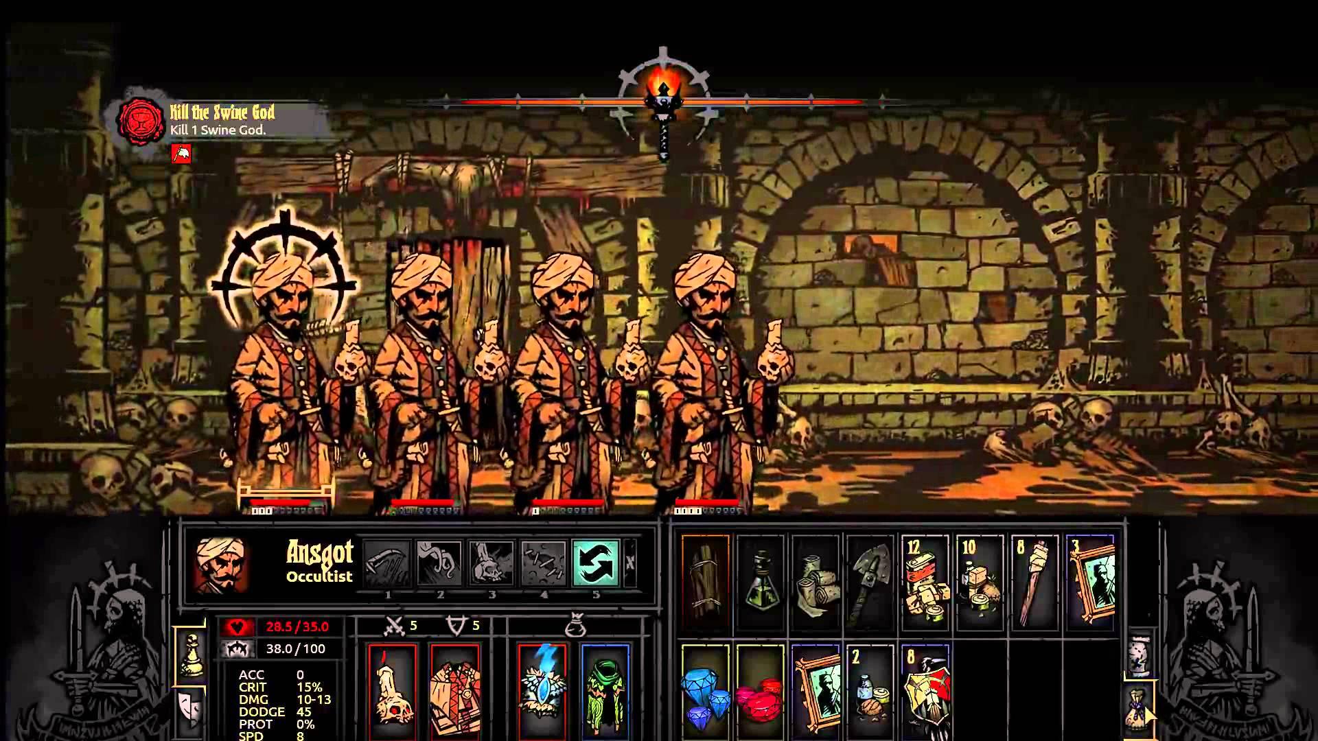 Darkest Dungeon: Occultist widescreen wallpapers