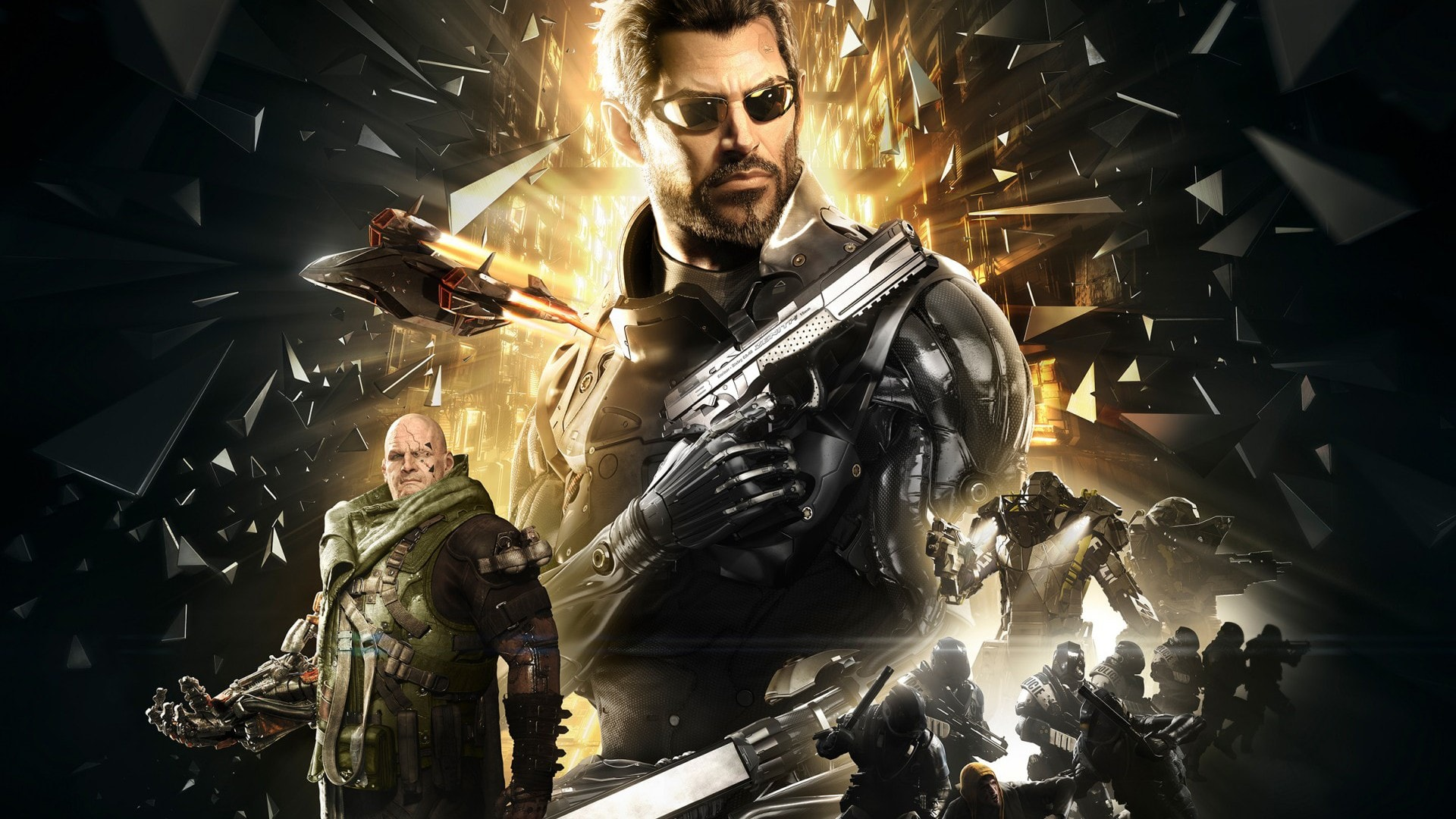 Deus Ex Mankind Divided HD pics