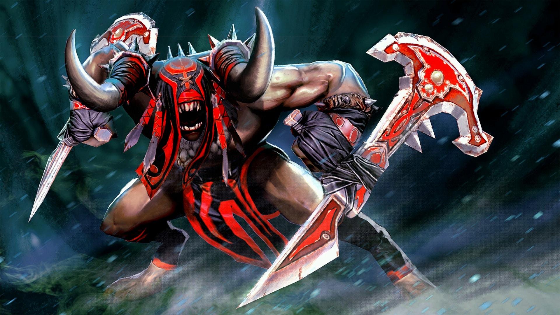 Dota2 : Bloodseeker Background