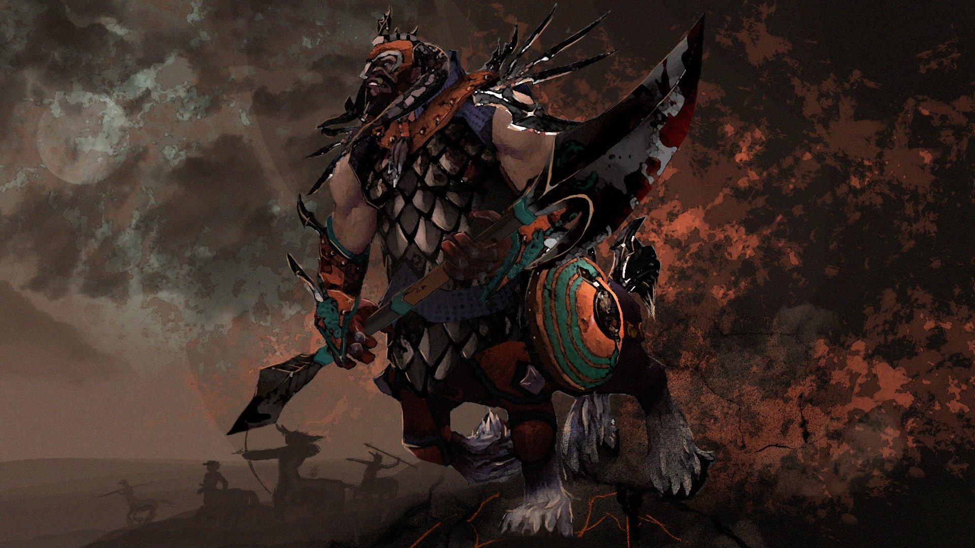 Dota2 : Centaur Warrunner widescreen wallpapers