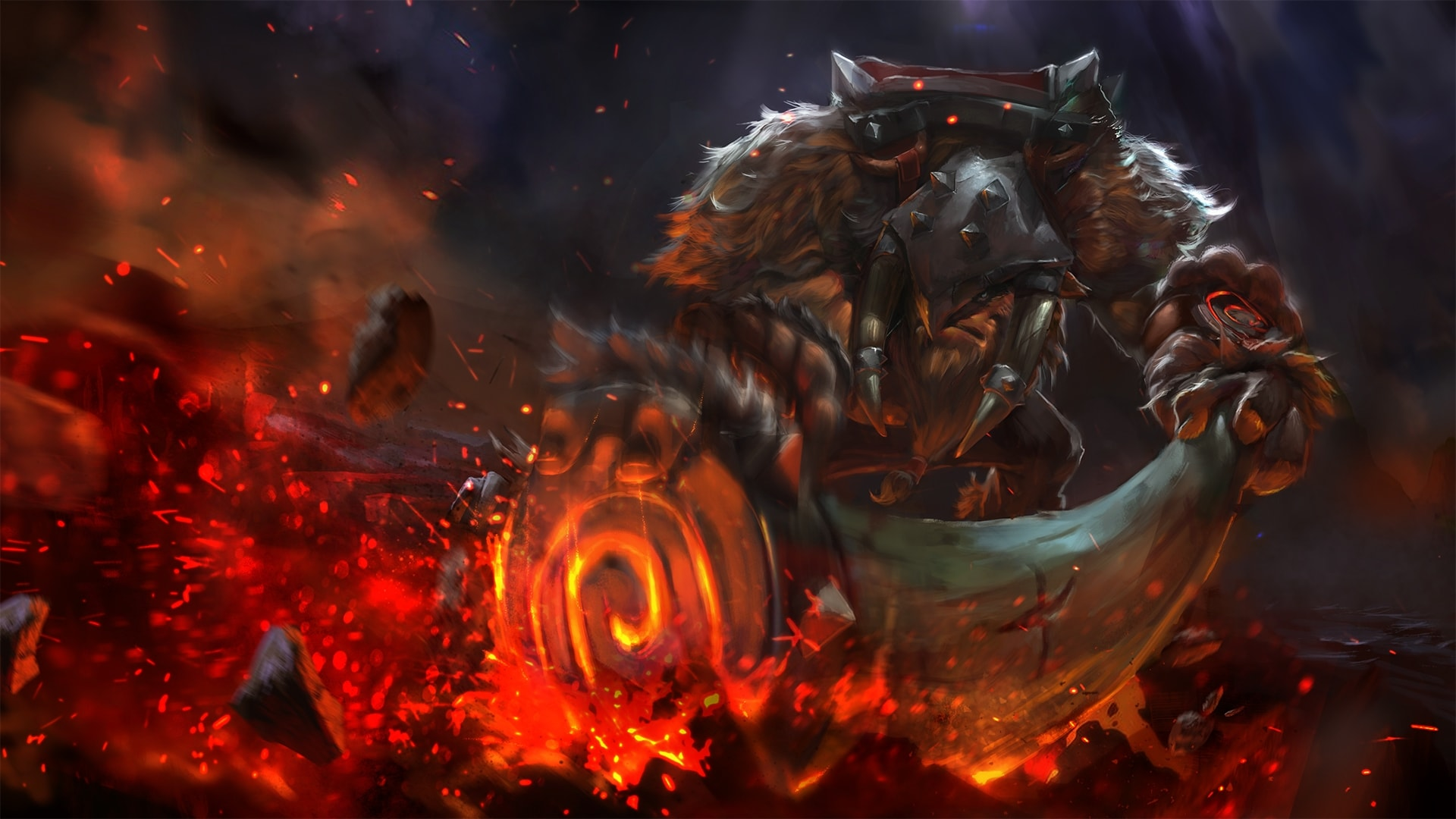 Dota2 Earthshaker Hd Wallpapers 7wallpapers Net