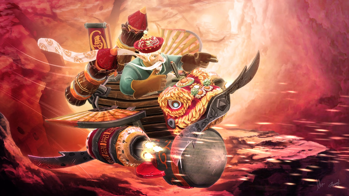 Dota2 : Gyrocopter HD pictures